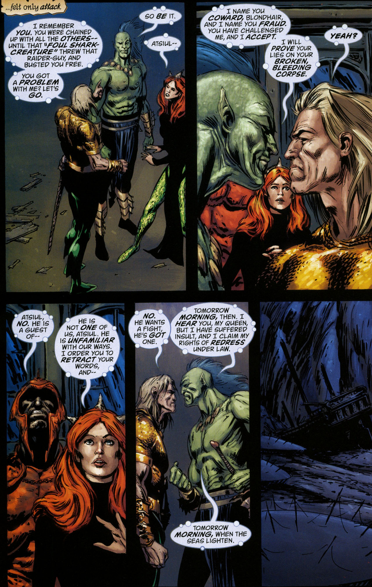 Read online Aquaman: Sword of Atlantis comic -  Issue #41 - 16