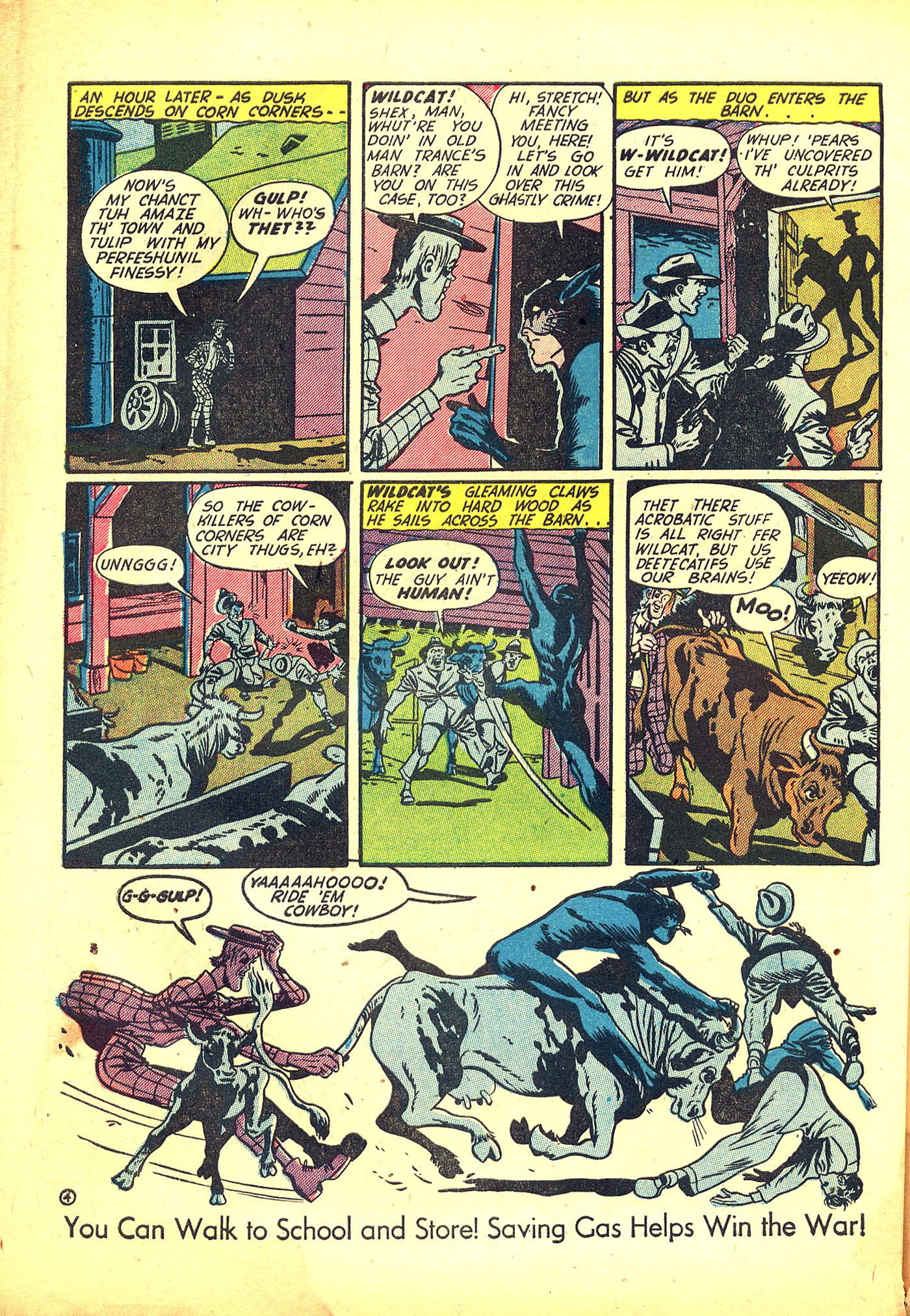 Read online Sensation (Mystery) Comics comic -  Issue #31 - 52