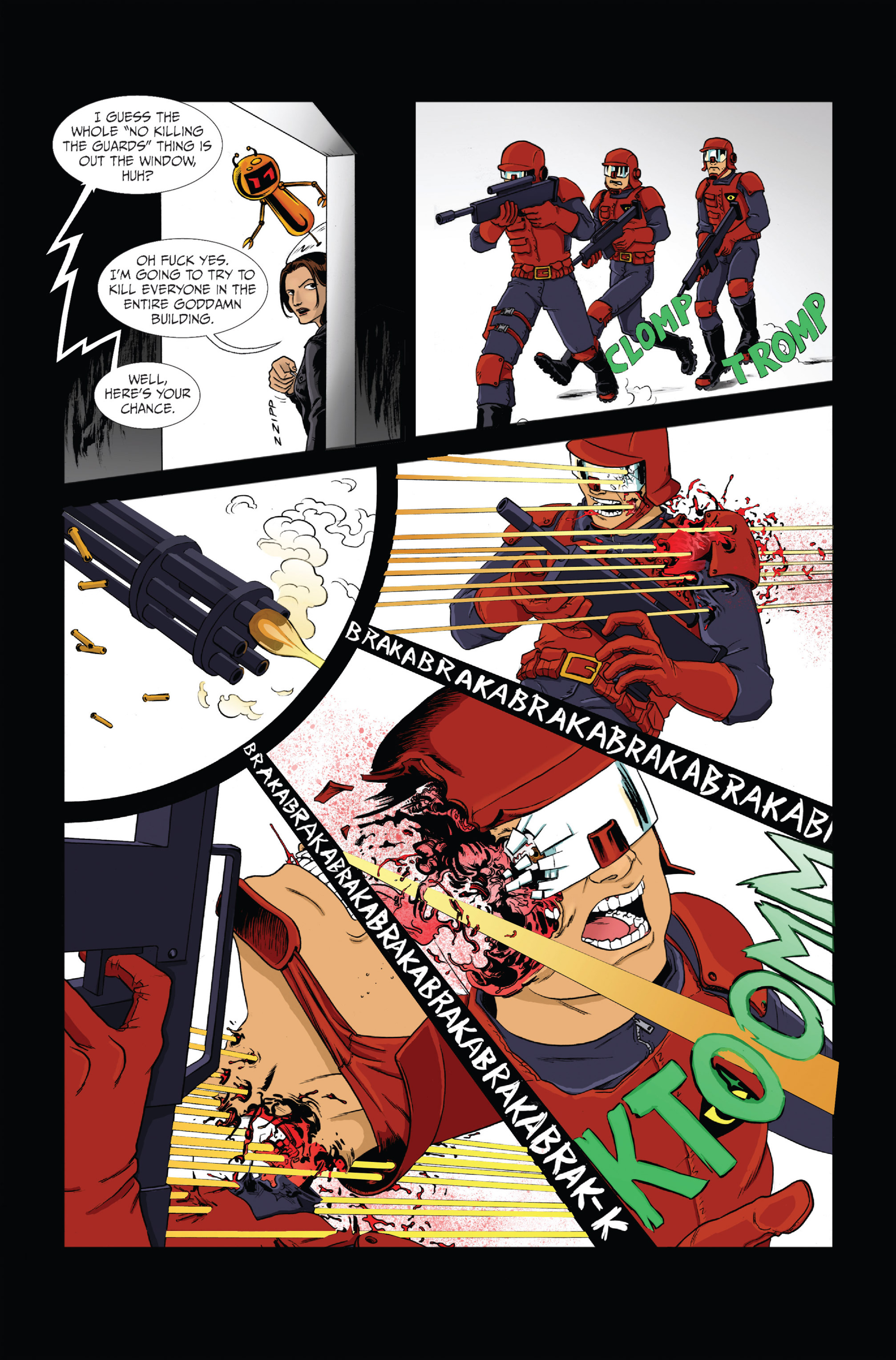 Read online Ehmm Theory: Everything & Small Doses comic -  Issue #1 - 9