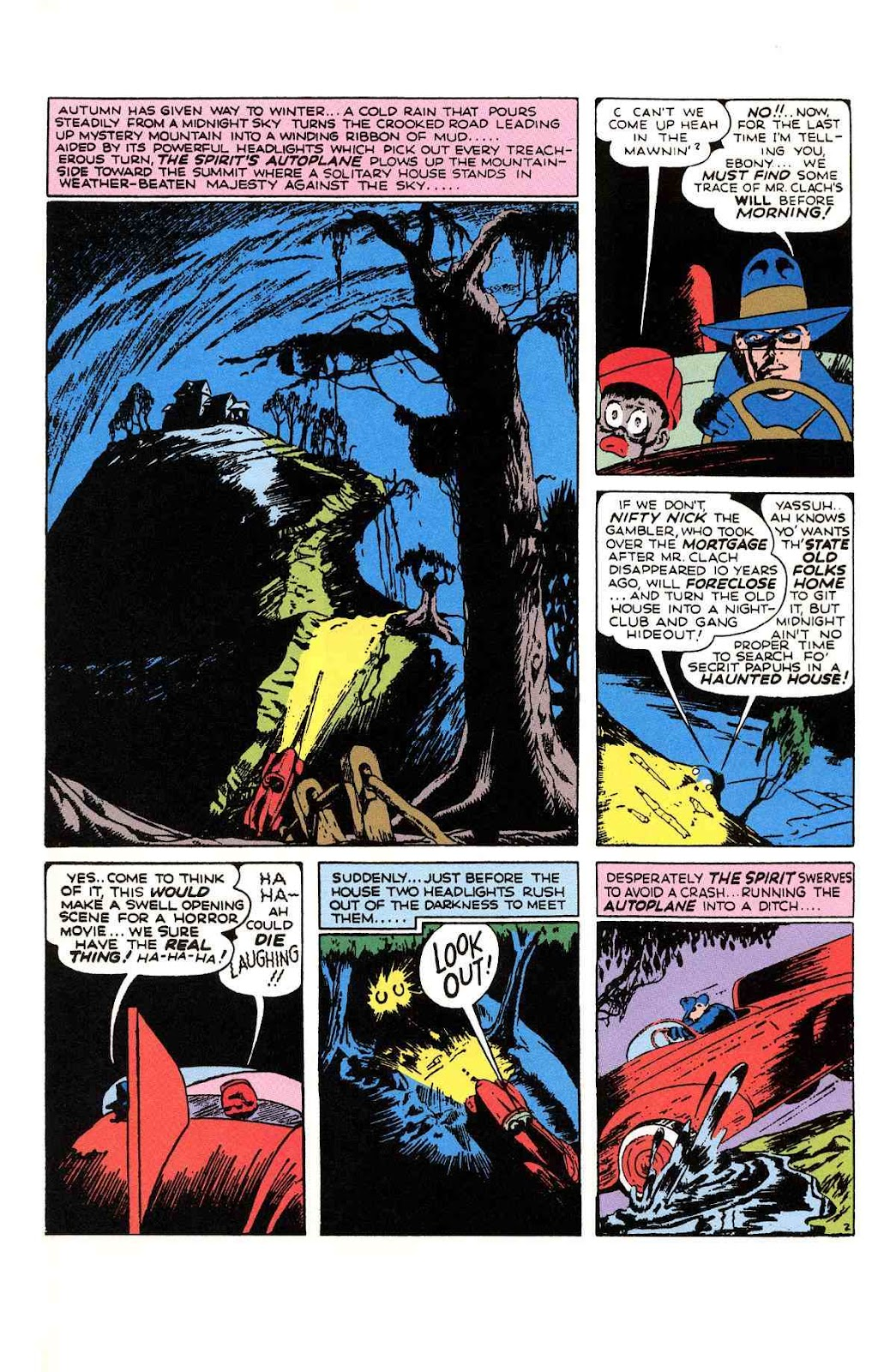 Read online Will Eisner's The Spirit Archives comic -  Issue # TPB 1 (Part 2) - 92