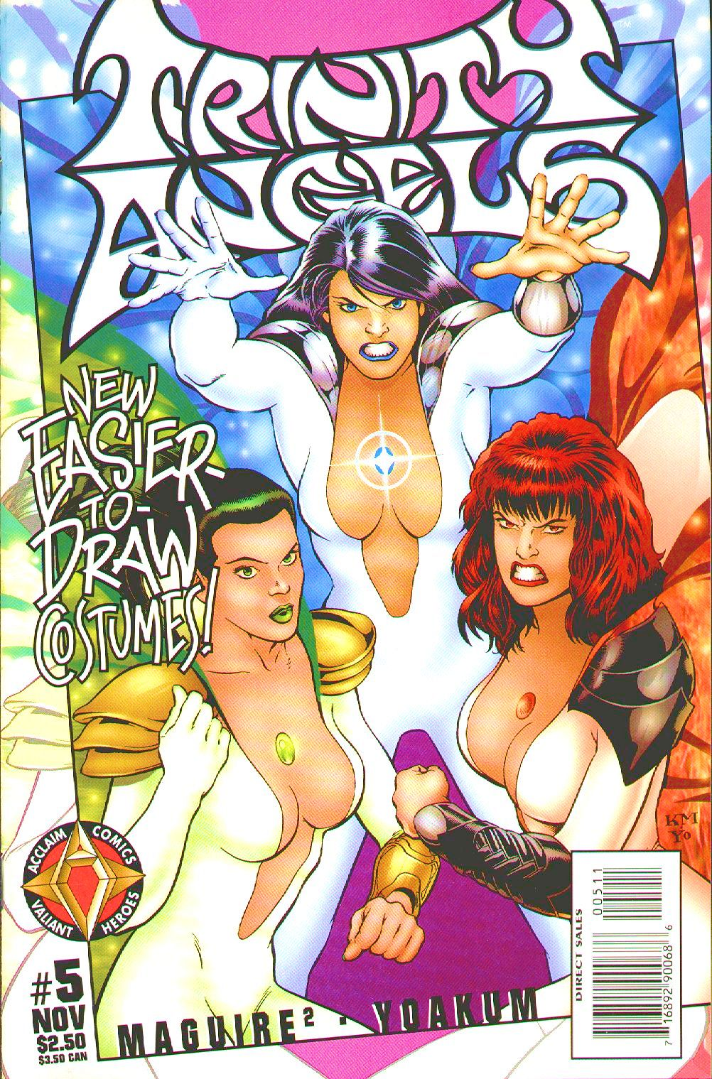 Read online Trinity Angels comic -  Issue #5 - 1