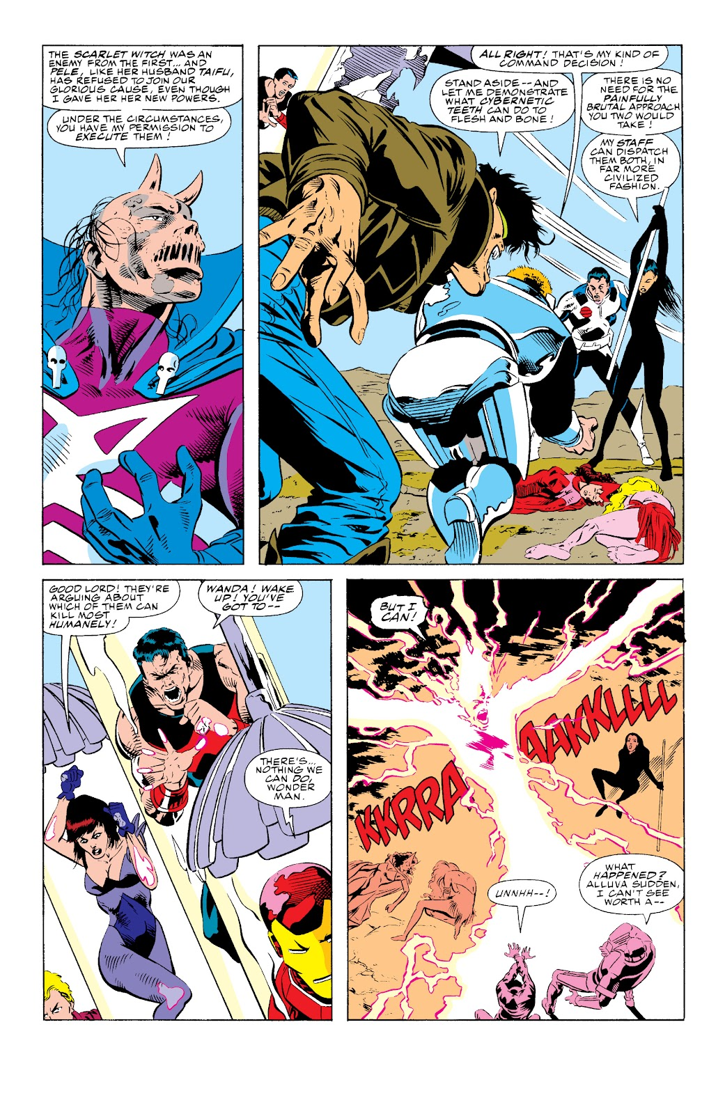 Avengers West Coast (1989) issue 74 - Page 4