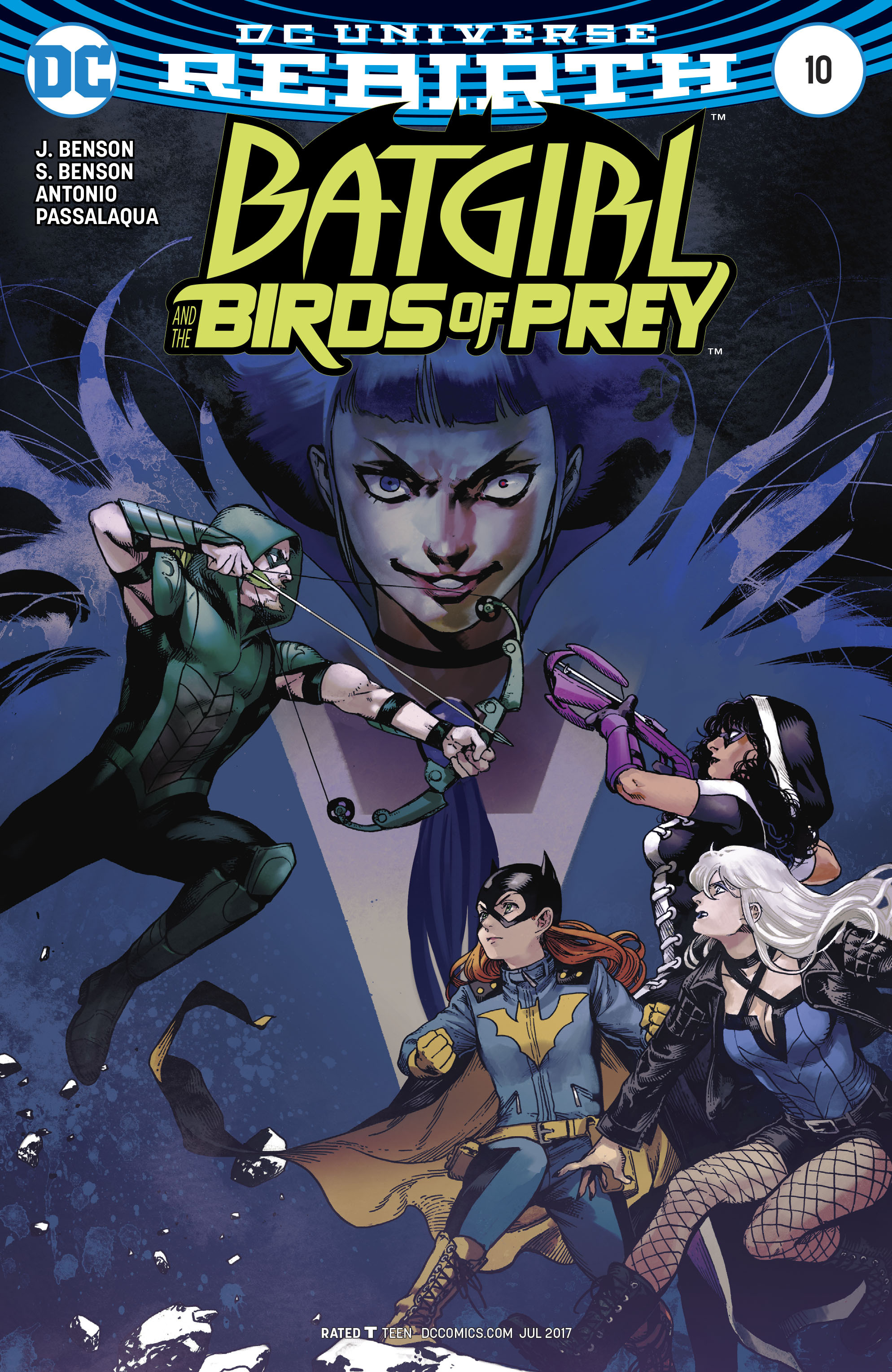 Batgirl and the Birds of Prey 10 Page 2