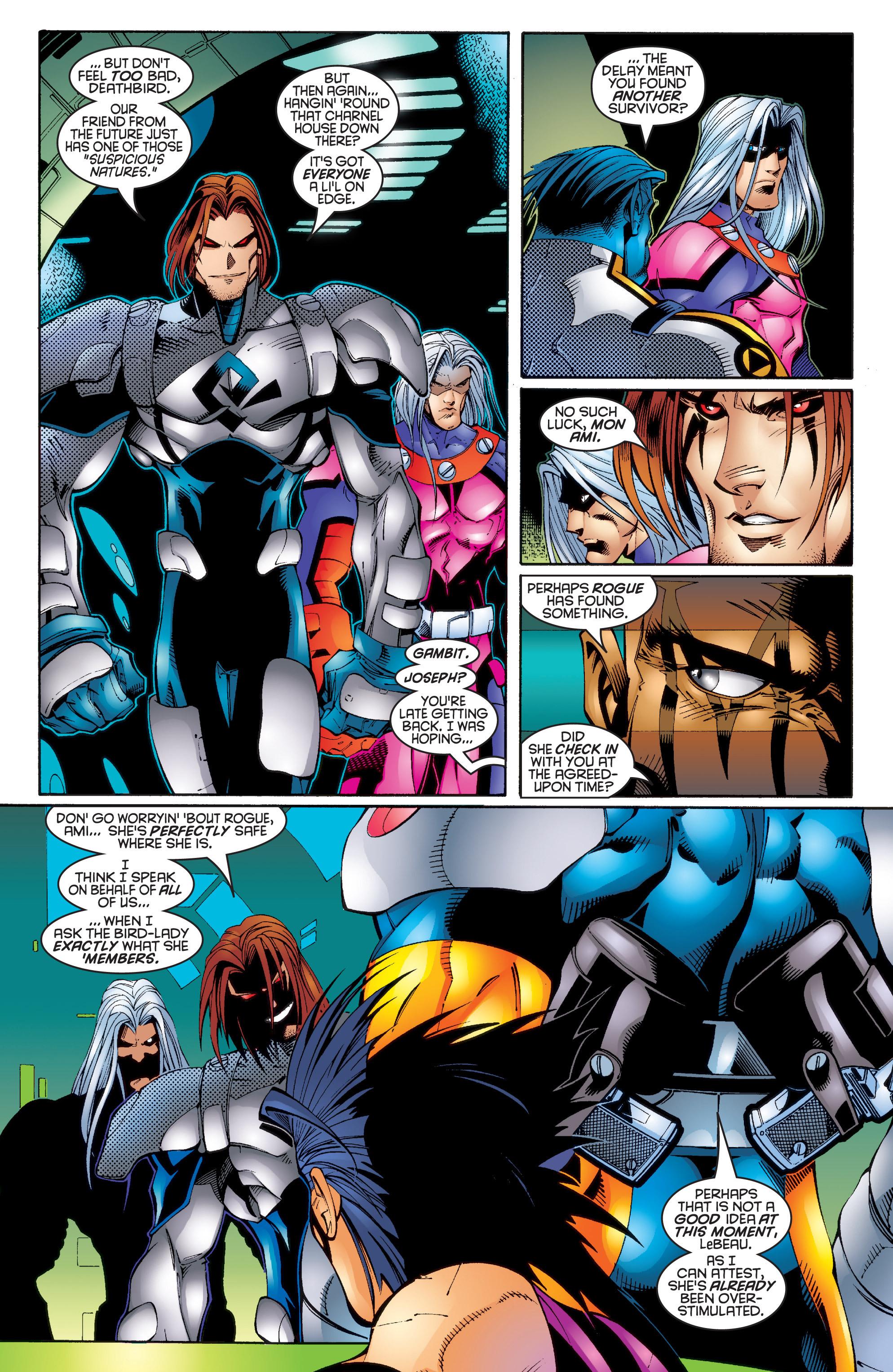 Read online Uncanny X-Men (1963) comic -  Issue #343 - 5