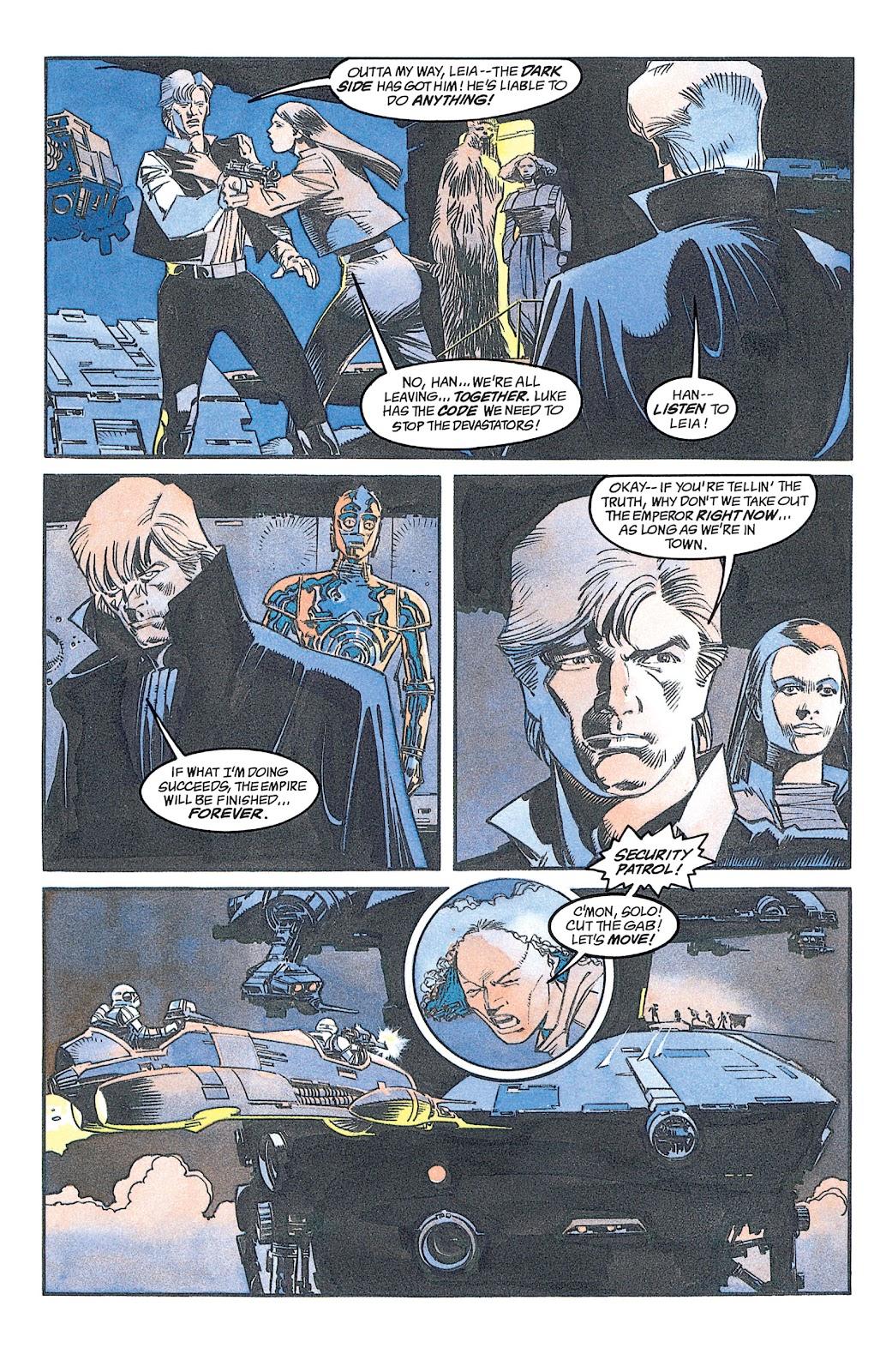 Read online Star Wars: Dark Empire Trilogy comic -  Issue # TPB (Part 2) - 22
