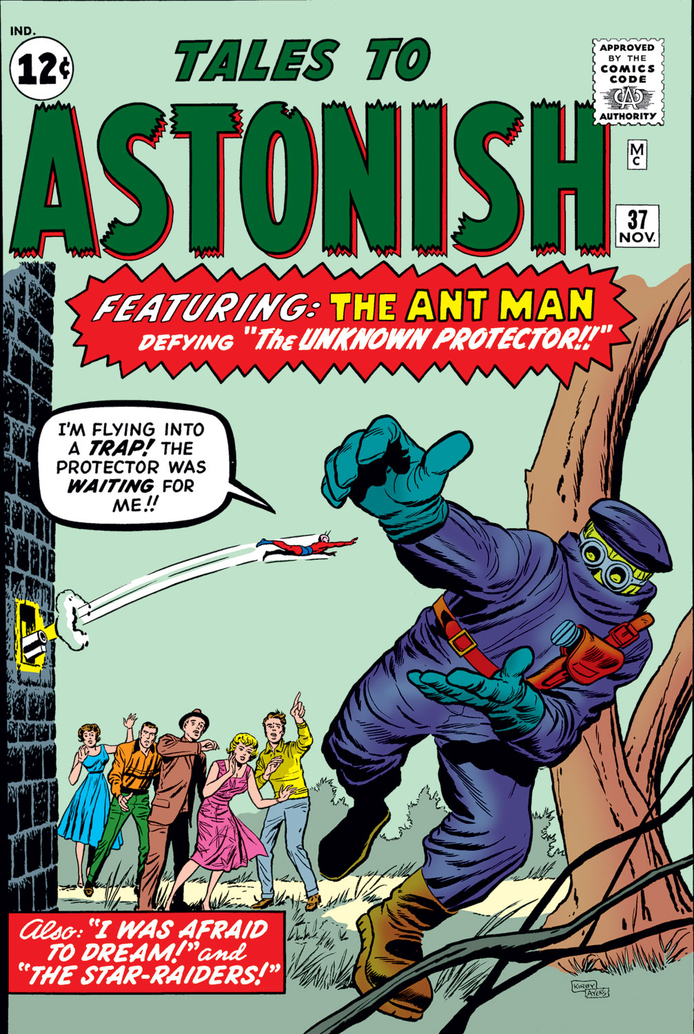 Tales to Astonish (1959) issue 37 - Page 1