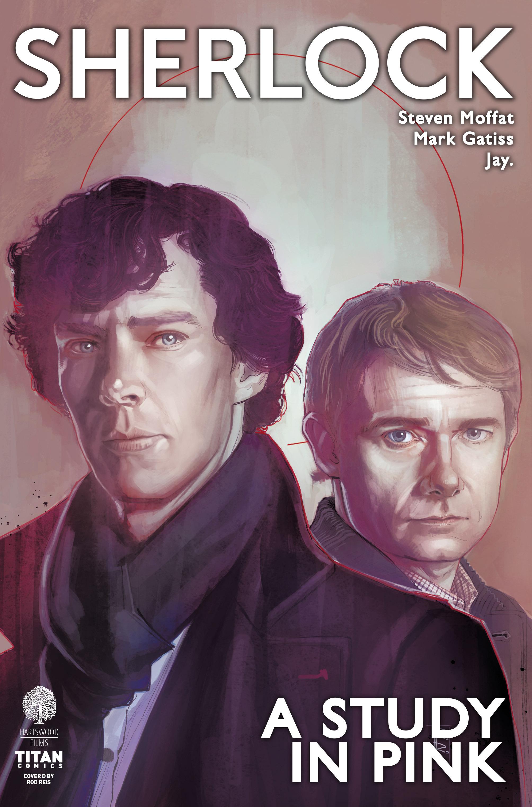 Read online Sherlock: A Study In Pink comic -  Issue #1 - 4