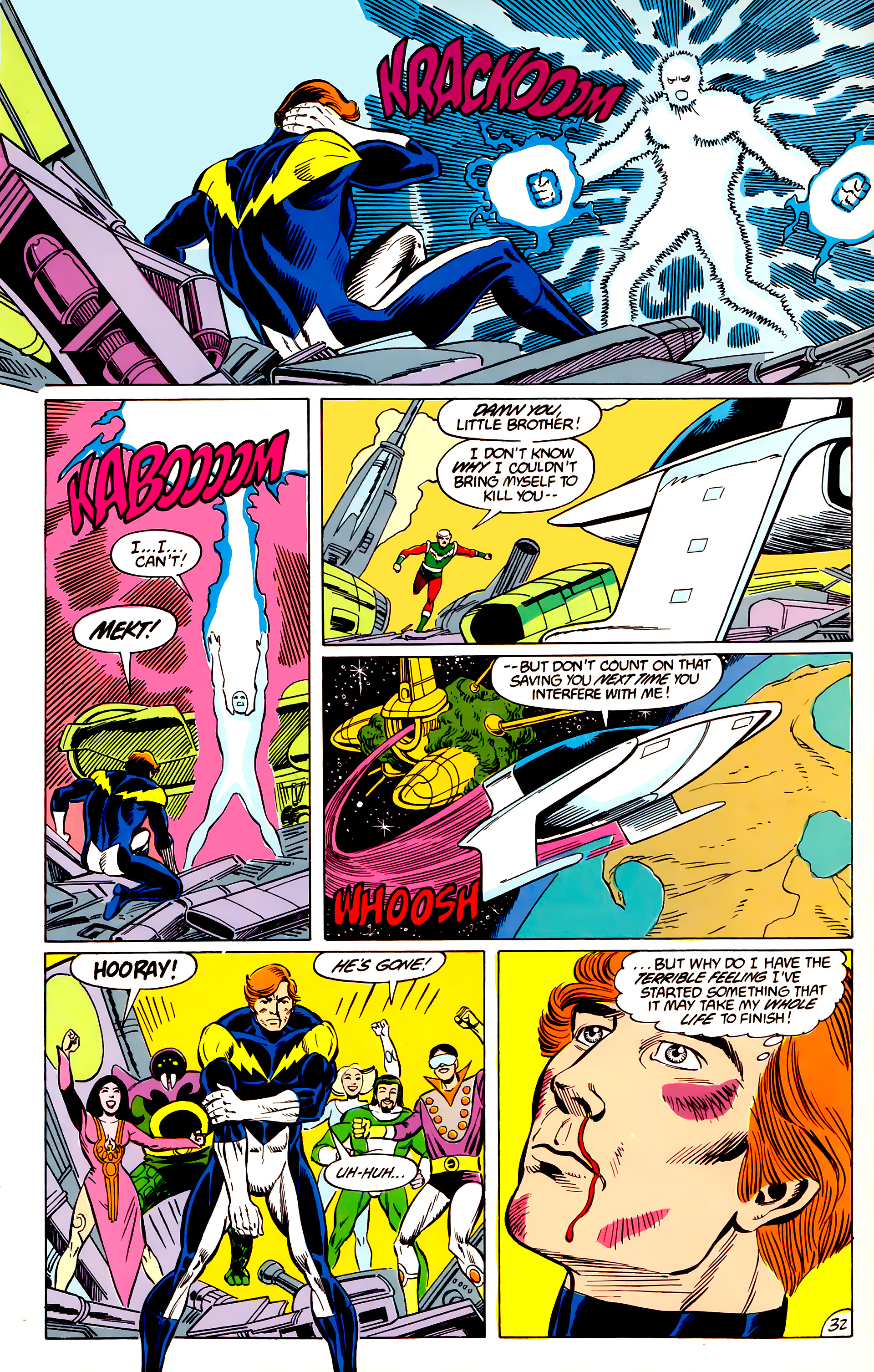 Legion of Super-Heroes (1984) 45 Page 32