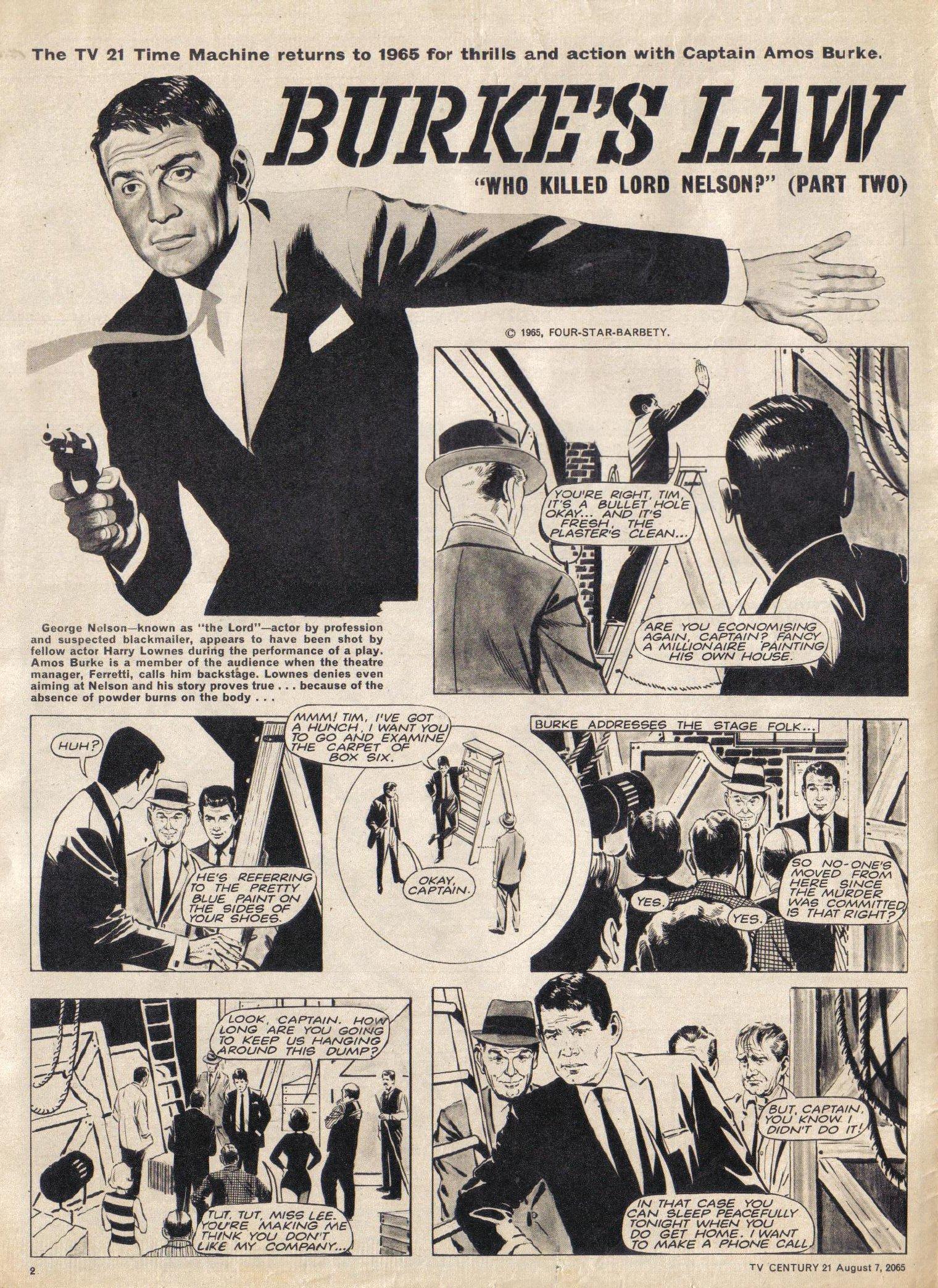 Read online TV Century 21 (TV 21) comic -  Issue #29 - 3