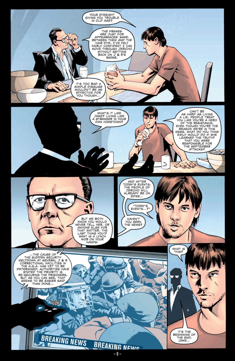 Read online Jericho Season 4 comic -  Issue #2 - 10