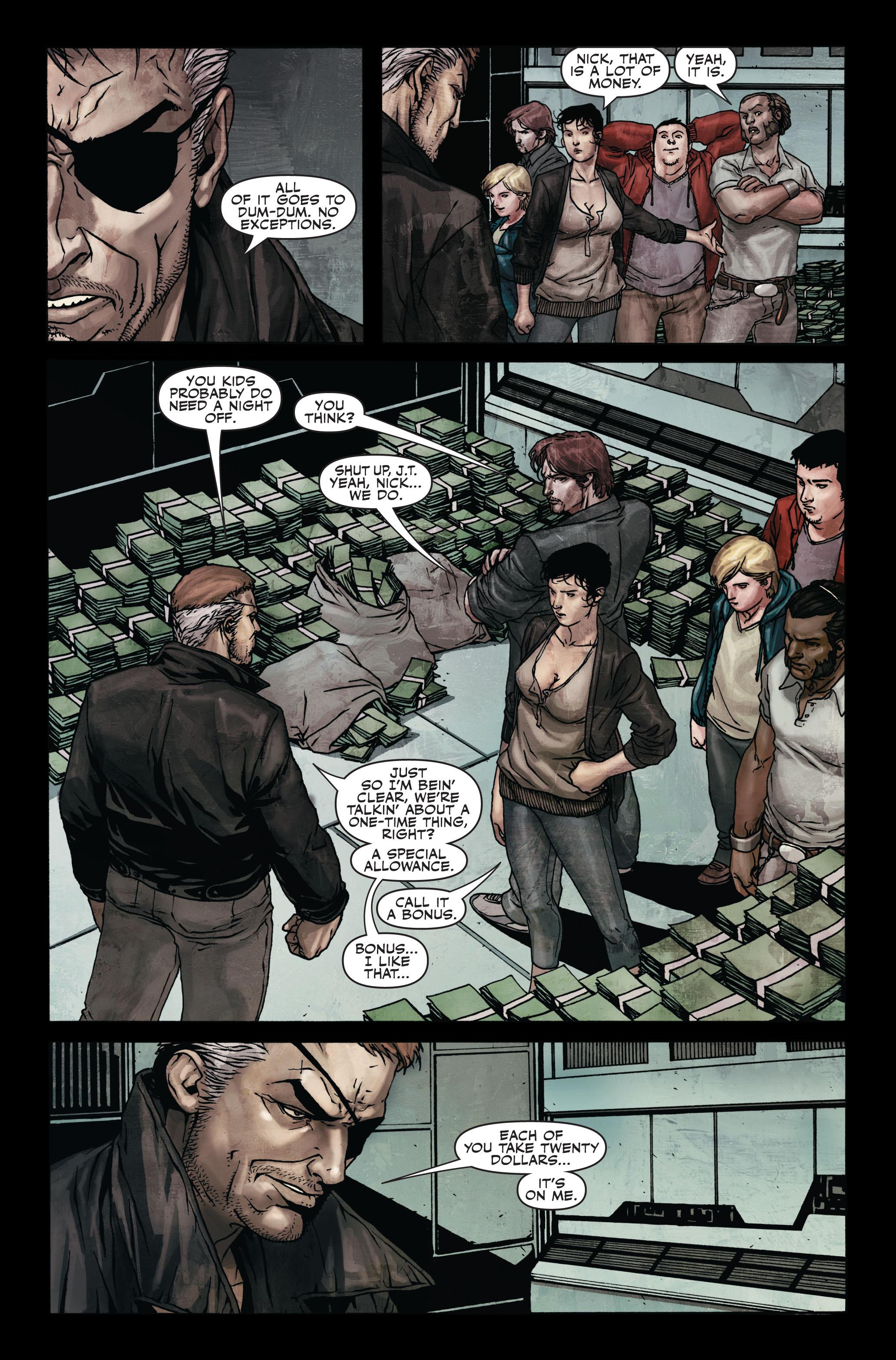 Read online Secret Warriors comic -  Issue #7 - 16