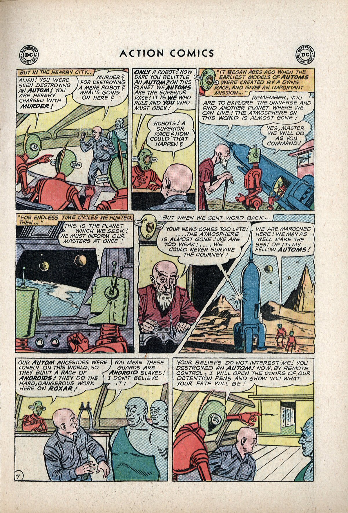 Read online Action Comics (1938) comic -  Issue #292 - 9