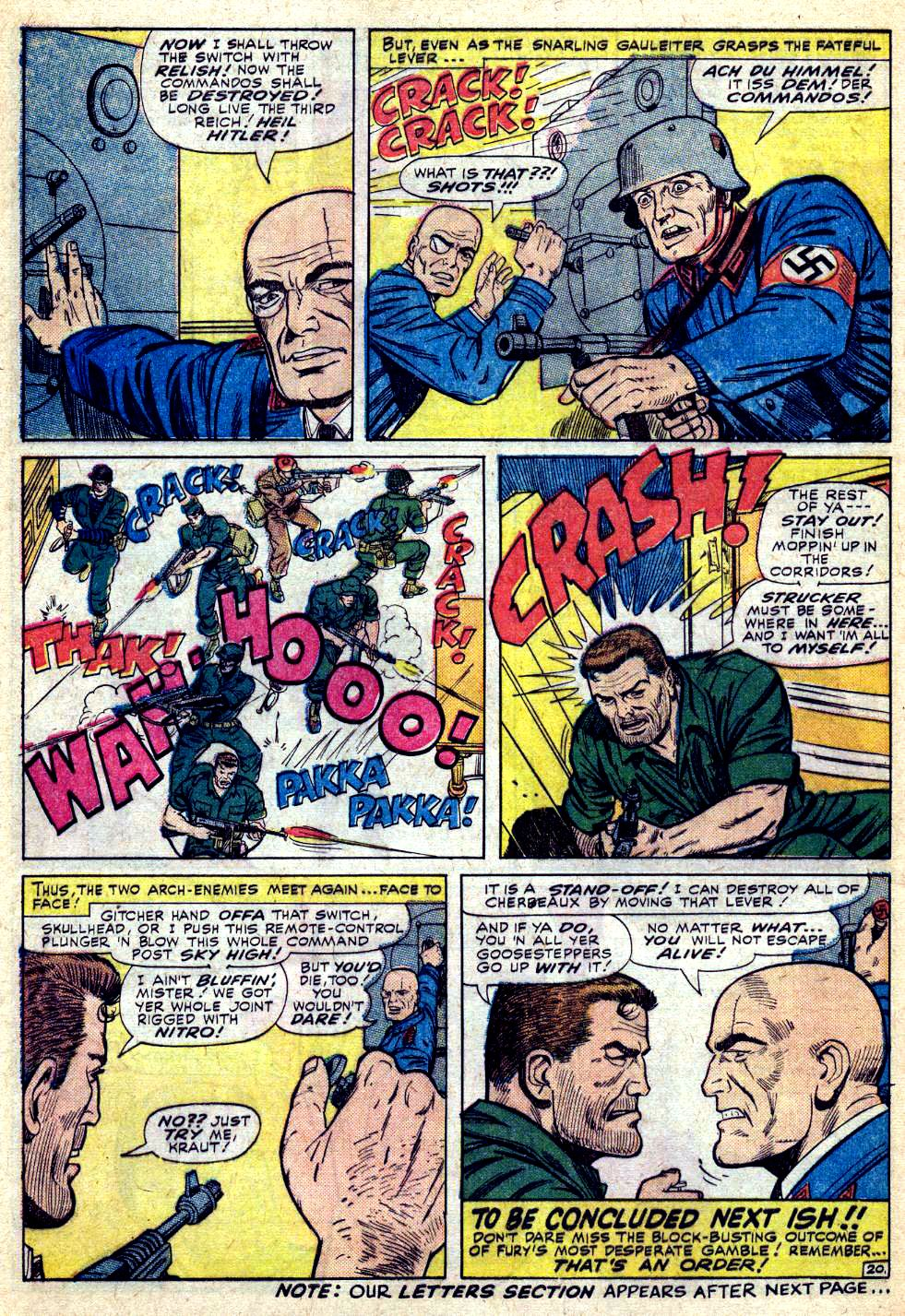 Read online Sgt. Fury comic -  Issue #28 - 28