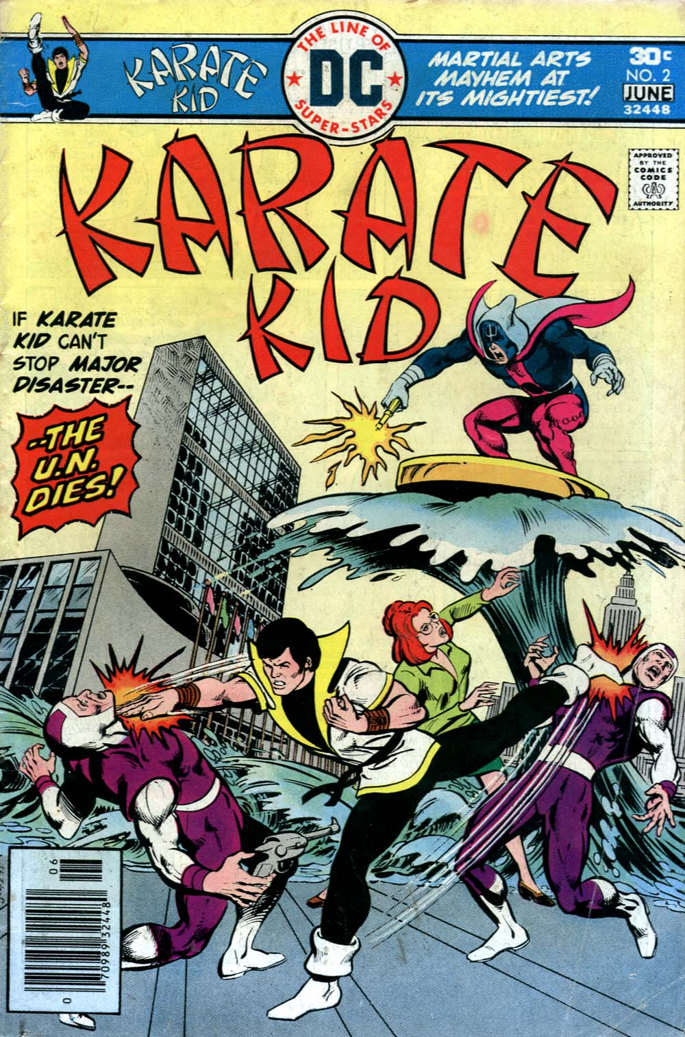 Karate Kid issue 2 - Page 1