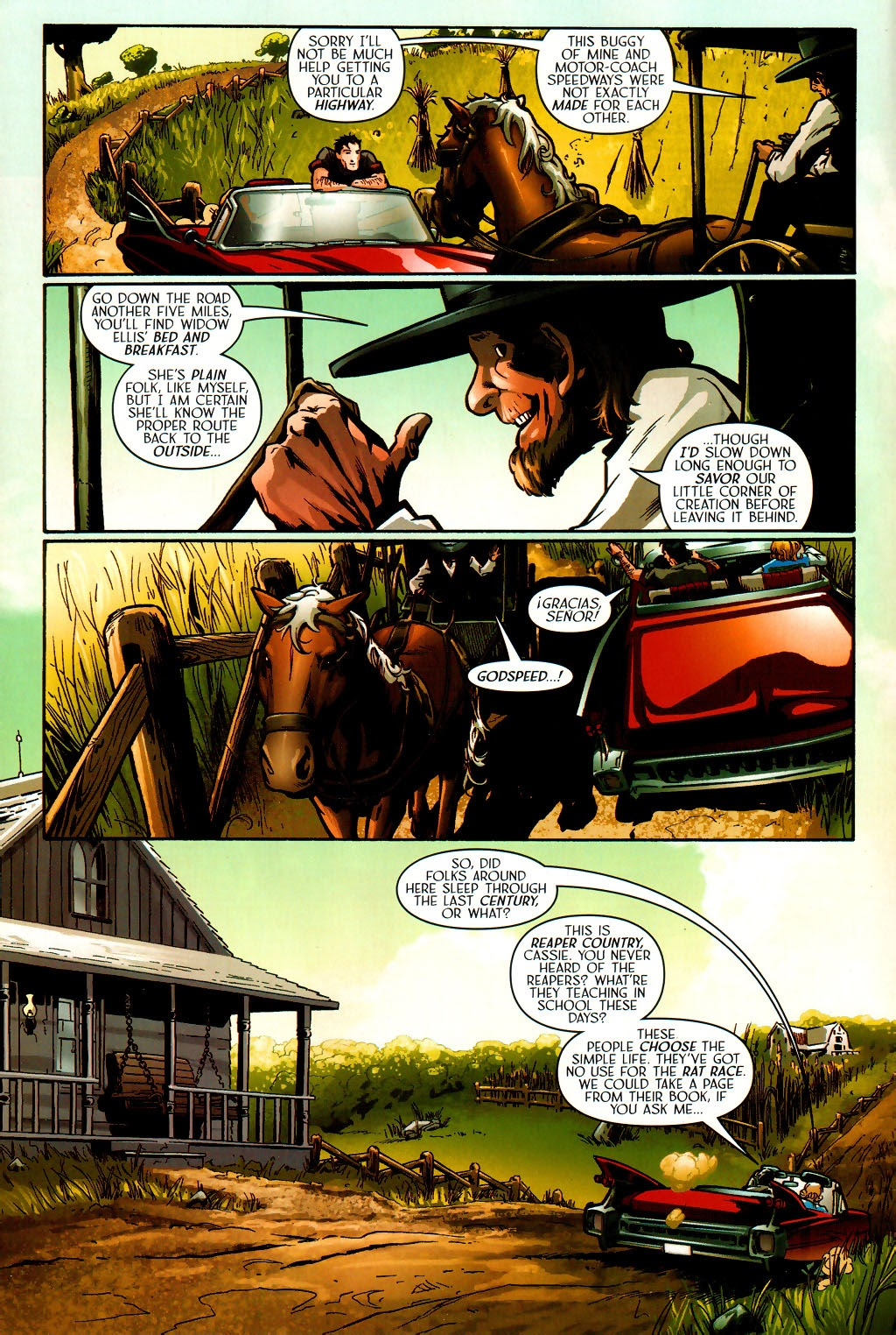 Read online Route 666 comic -  Issue #16 - 10