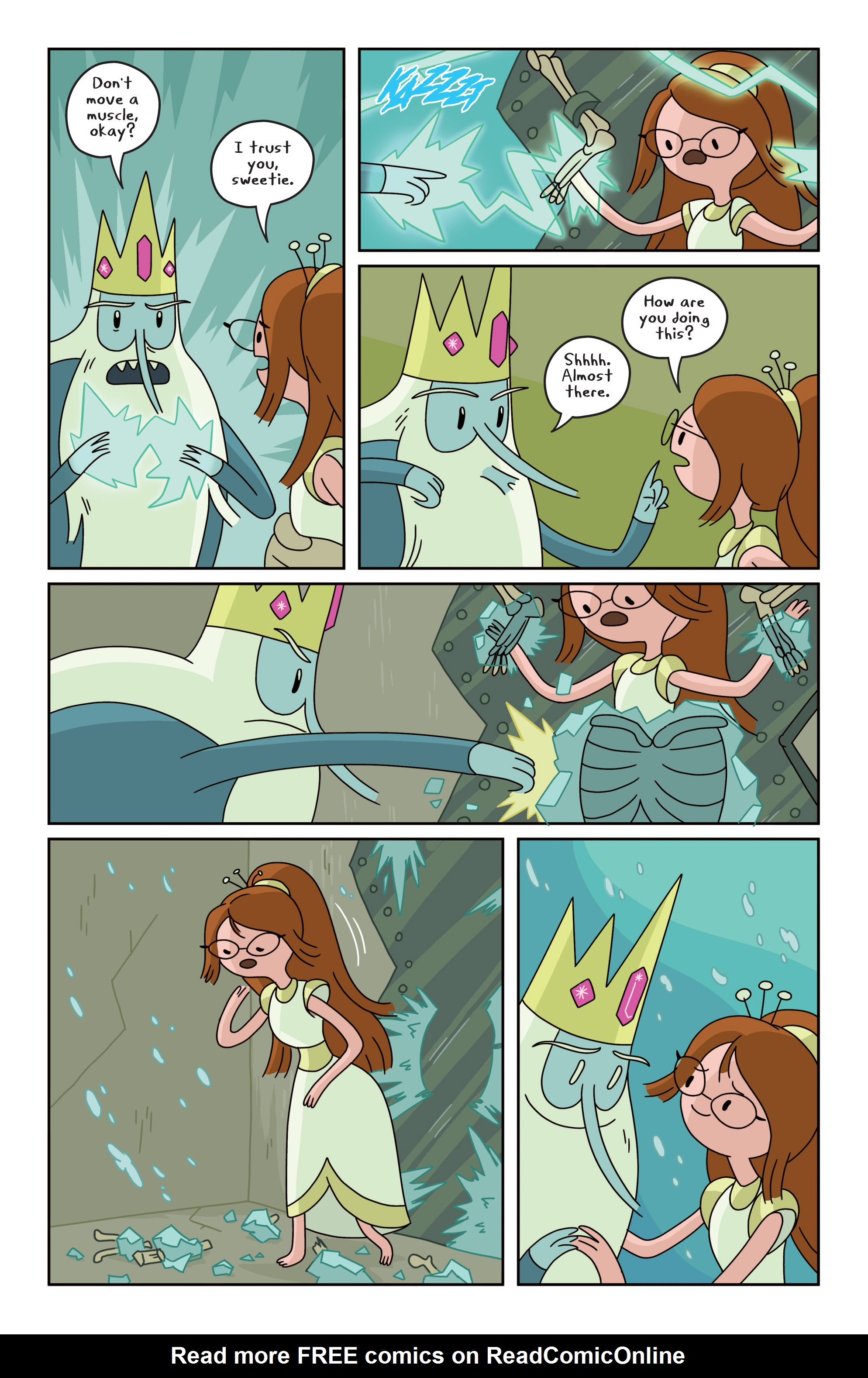 Read online Adventure Time comic -  Issue #18 - 21