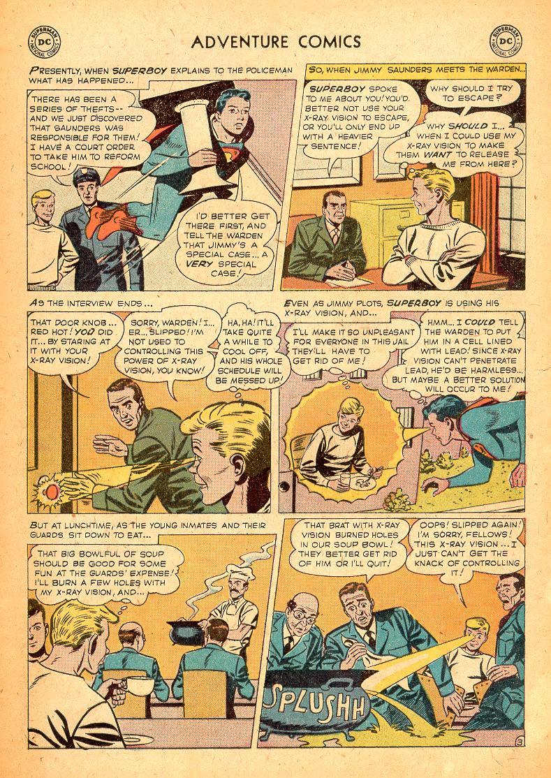 Read online Adventure Comics (1938) comic -  Issue #254 - 5