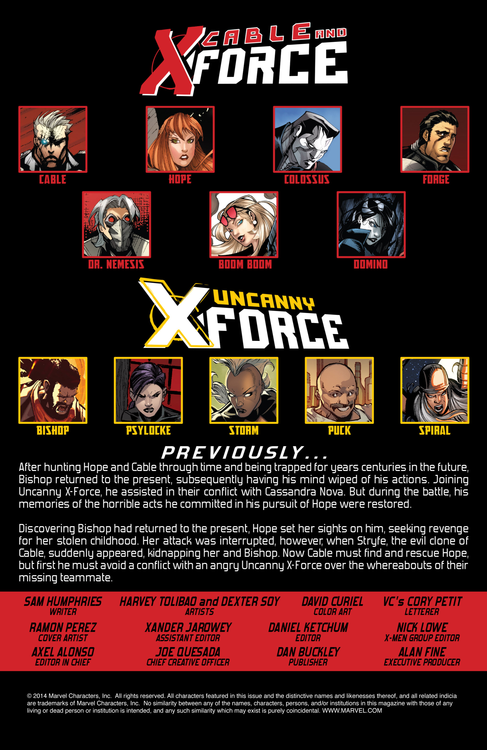 Read online Uncanny X-Force (2013) comic -  Issue #16 - 2