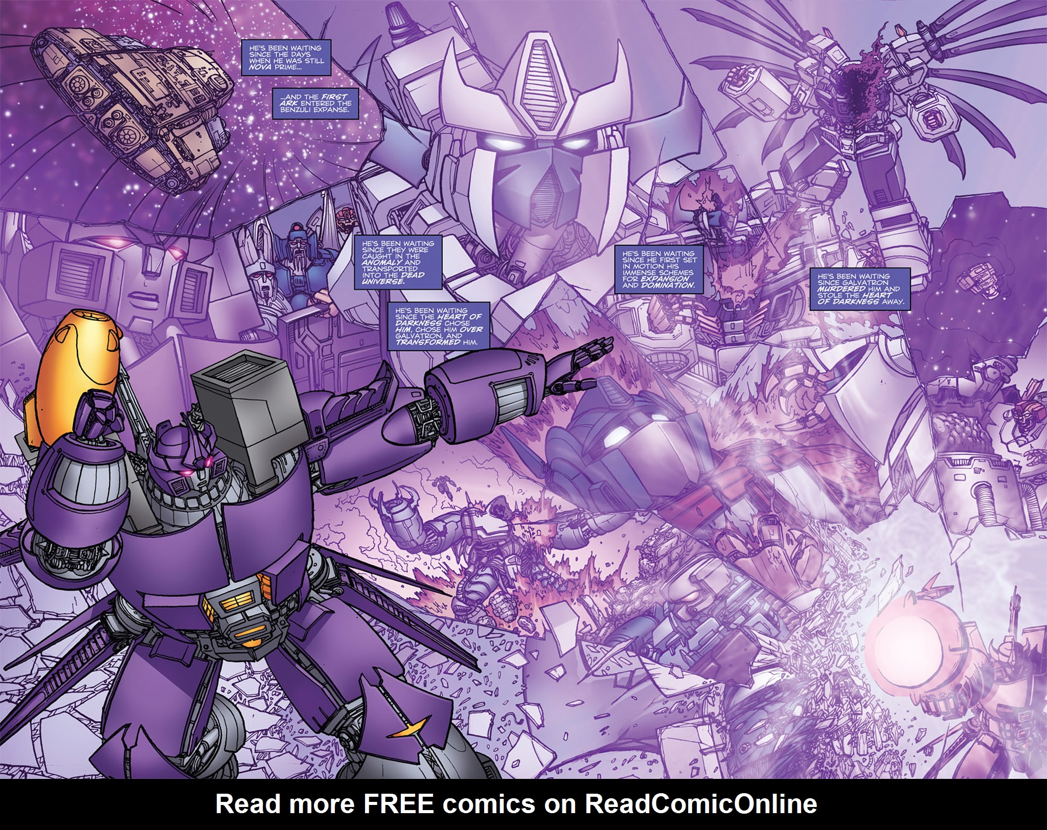 Read online Transformers: Heart of Darkness comic -  Issue #4 - 7