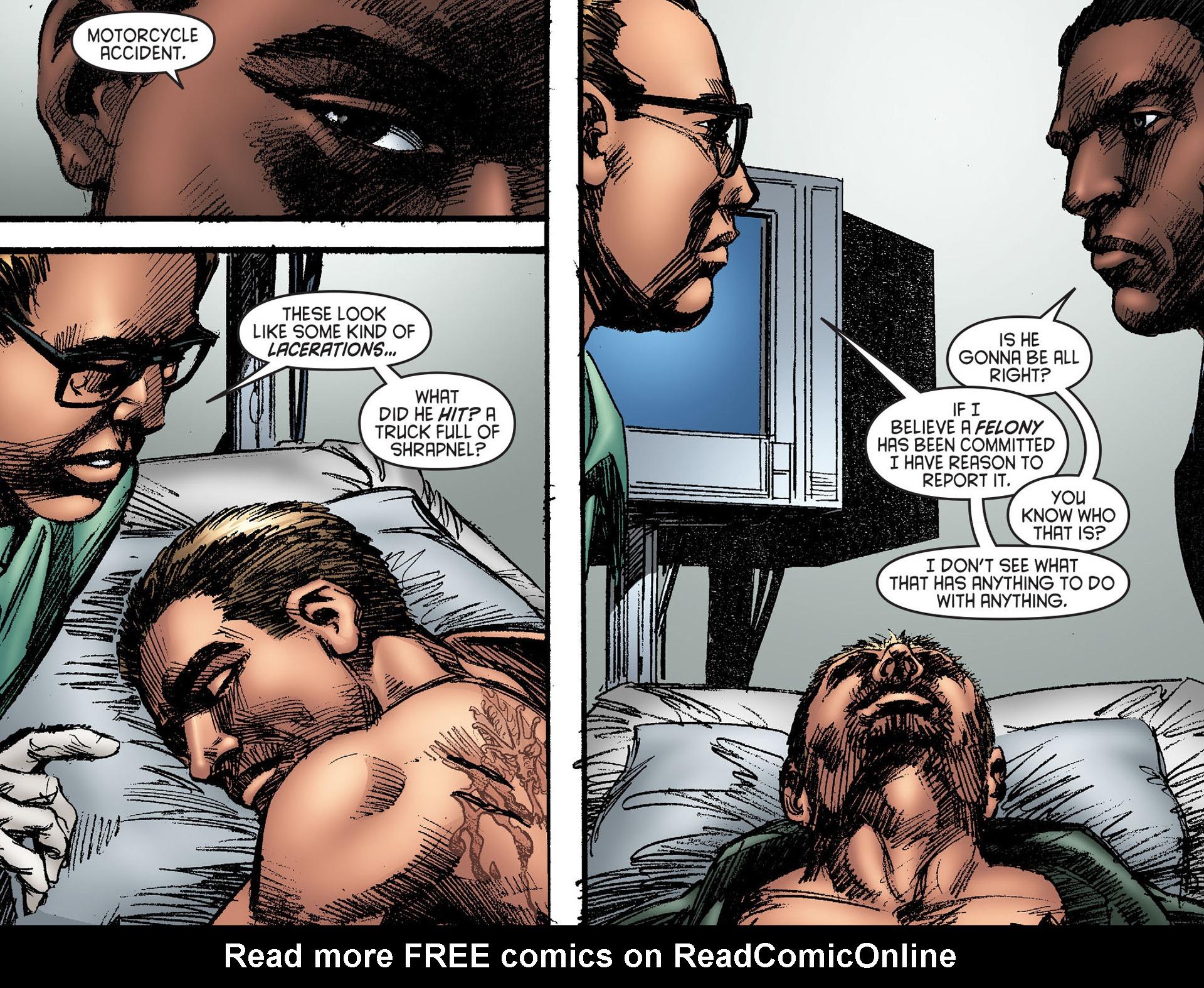 Read online Arrow [II] comic -  Issue #25 - 16