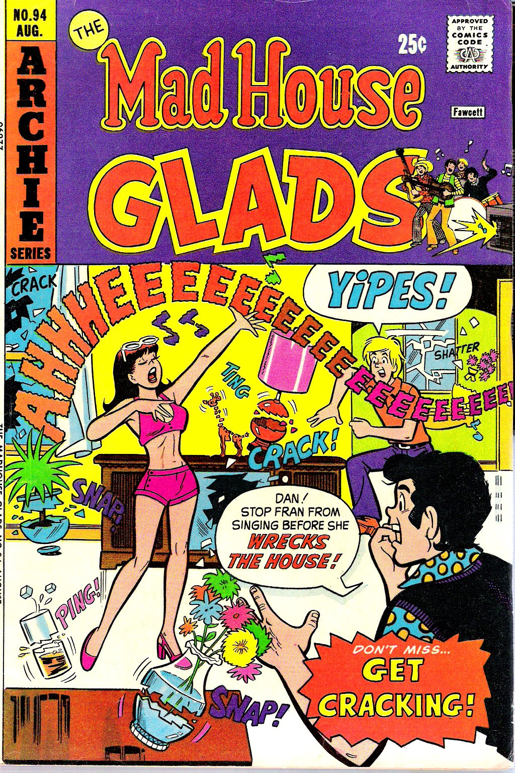 Read online The Mad House Glads comic -  Issue #94 - 1