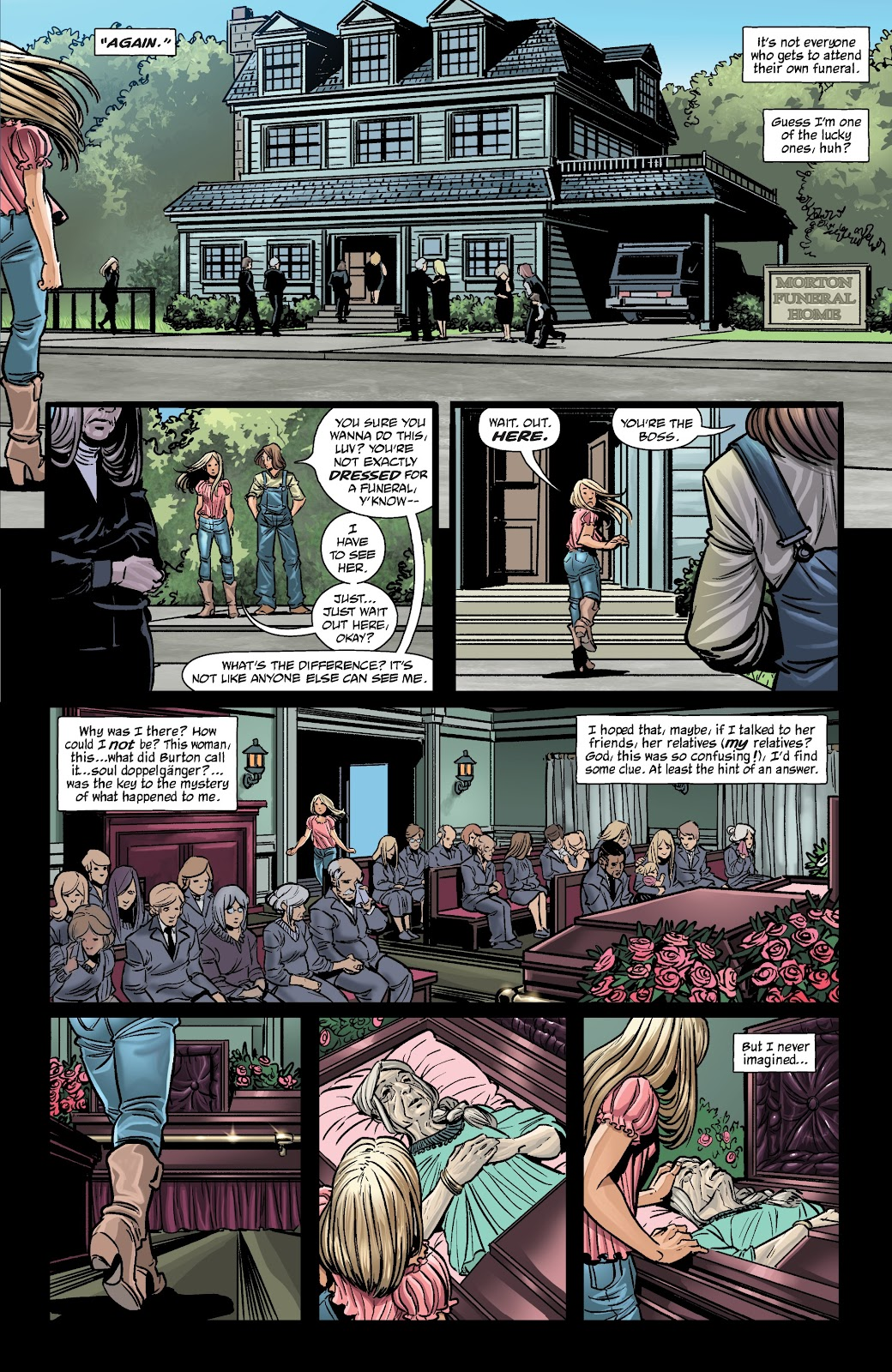 Read online The Girl In The Bay comic -  Issue #2 - 21