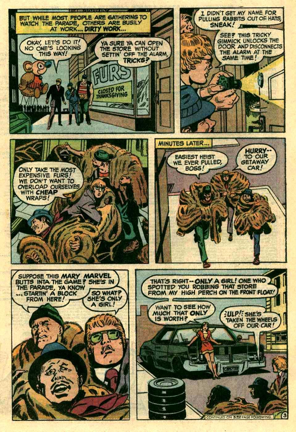 Read online Shazam! (1973) comic -  Issue #10 - 11