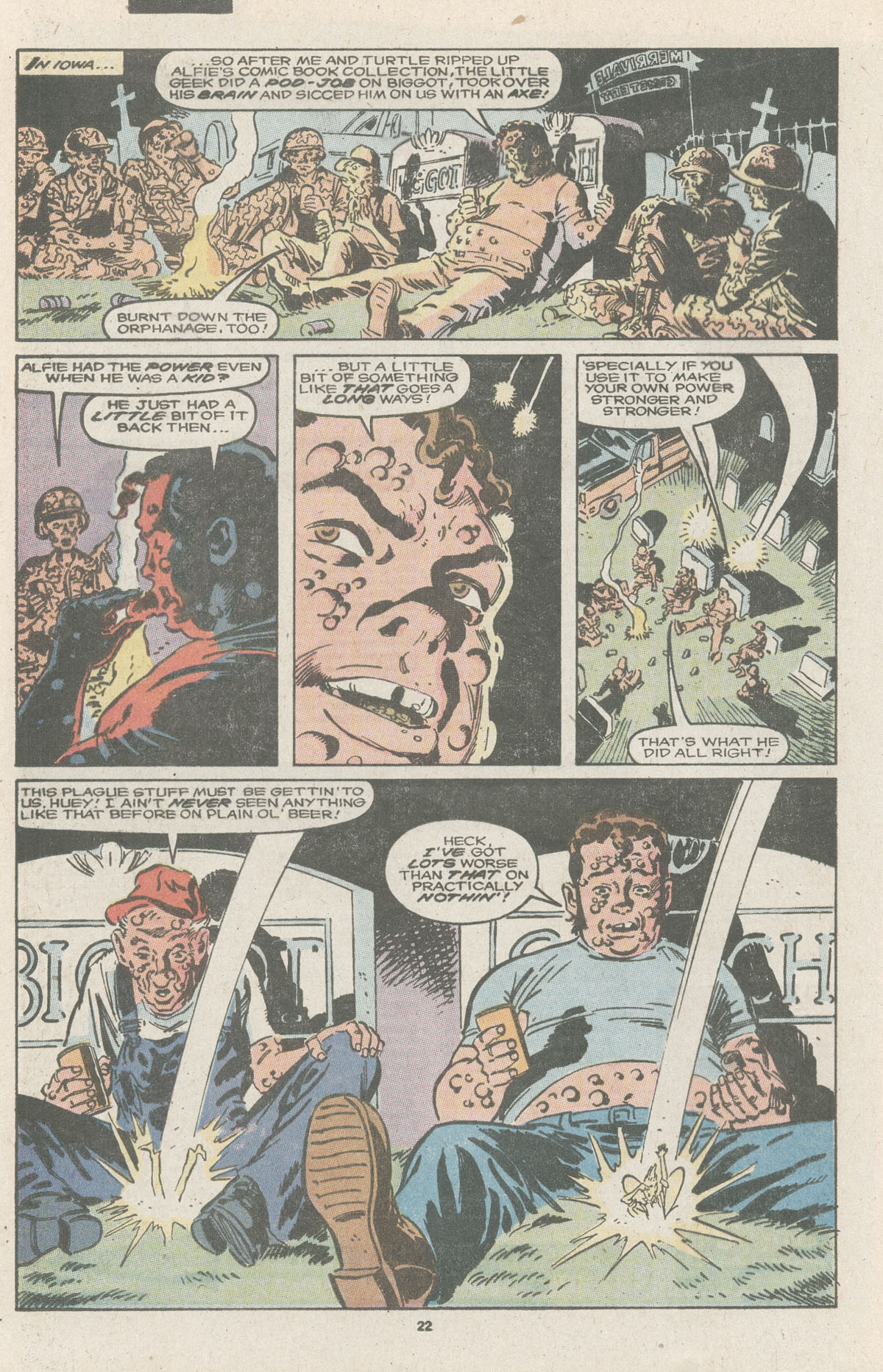 Read online Nth Man the Ultimate Ninja comic -  Issue #11 - 24