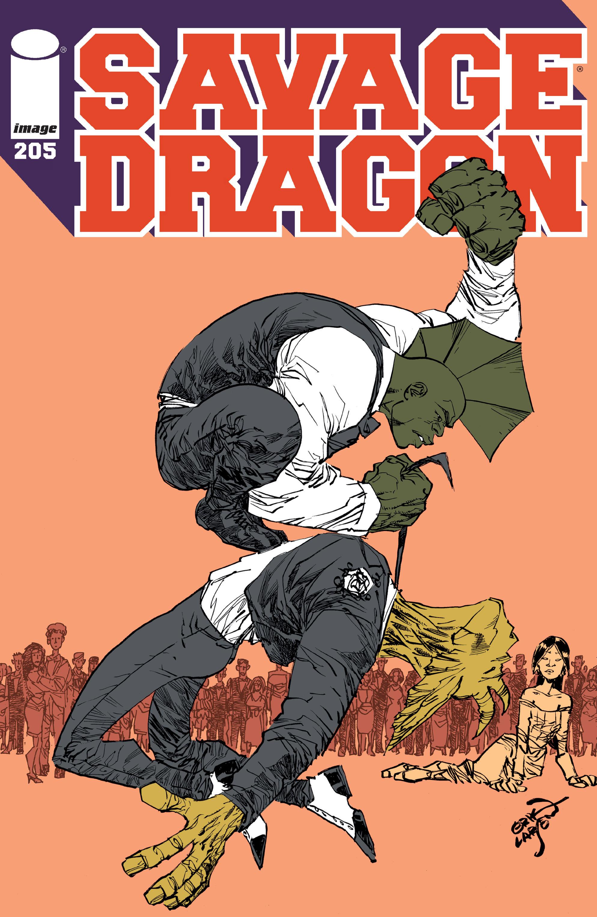 The Savage Dragon (1993) 205 Page 1