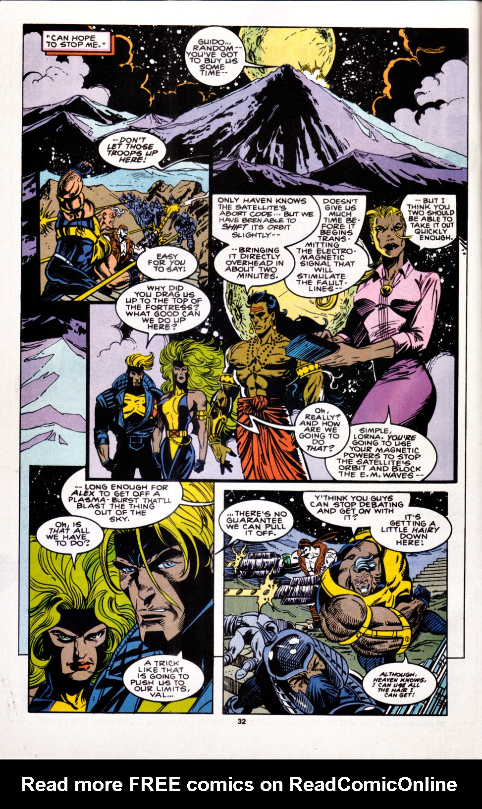 Read online X-Factor (1986) comic -  Issue #100 - 26