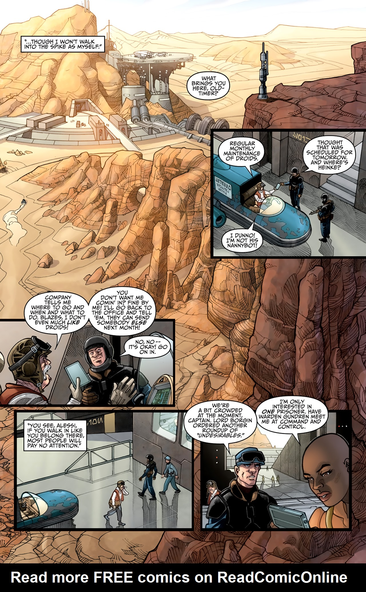 Read online Star Wars: Agent Of The Empire - Hard Targets comic -  Issue #3 - 14