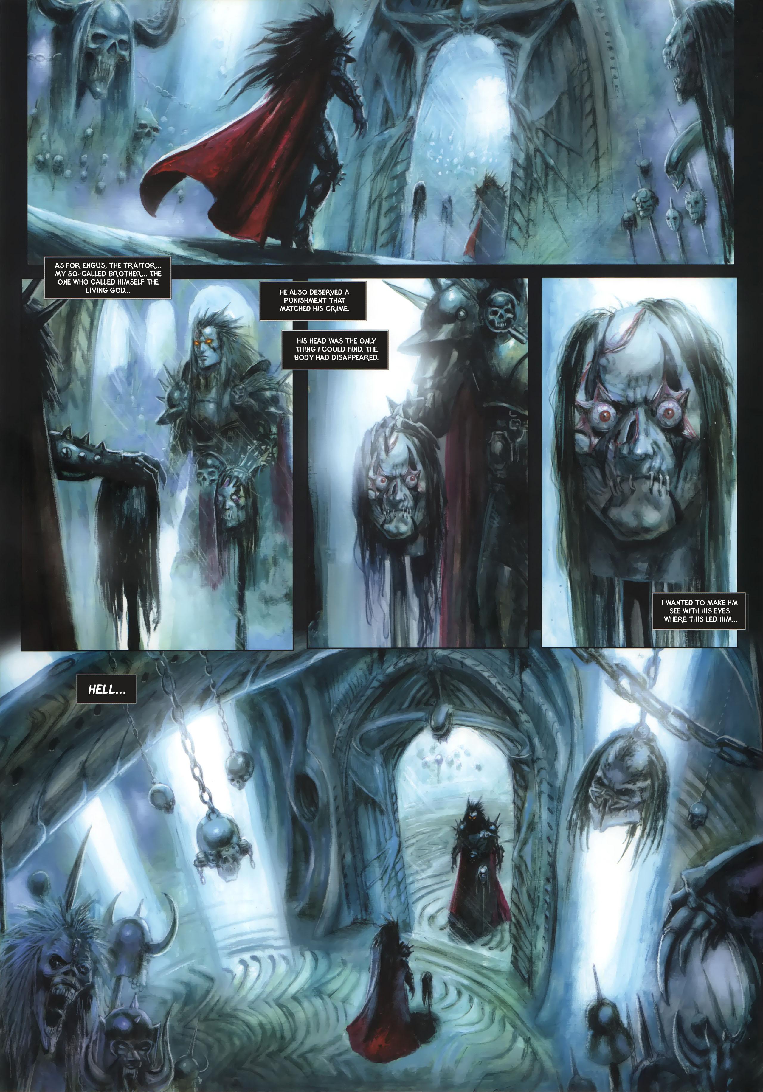 Read online Arawn comic -  Issue #6 - 35