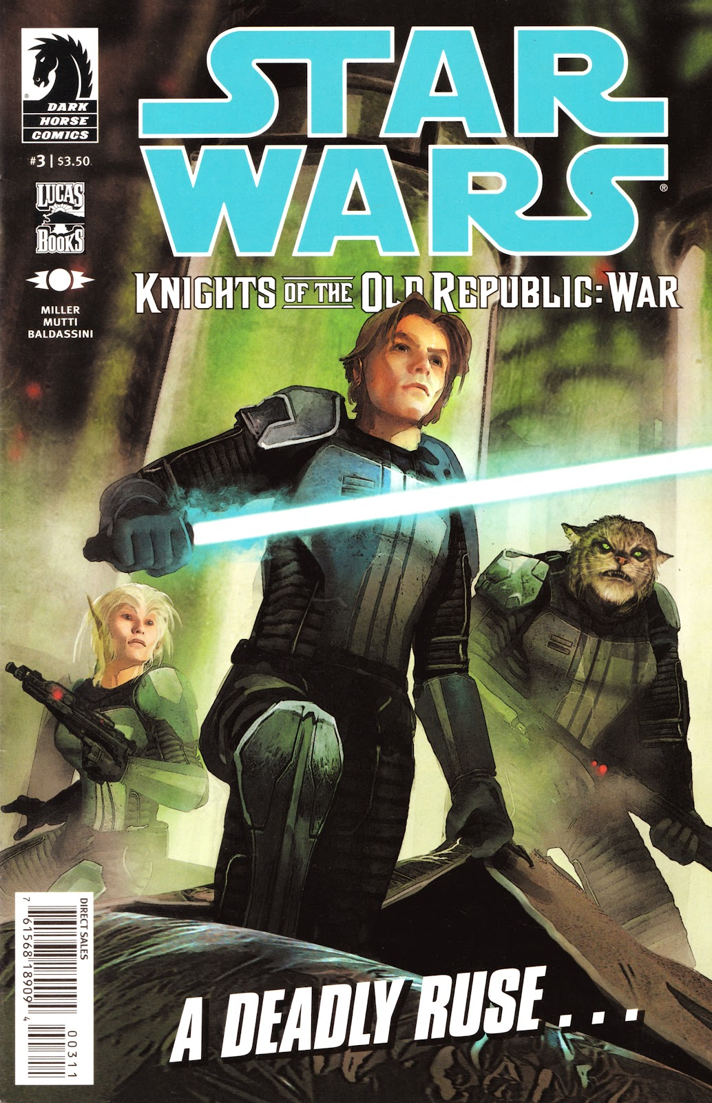 Star Wars: Knights Of The Old Republic - War 3 Page 1