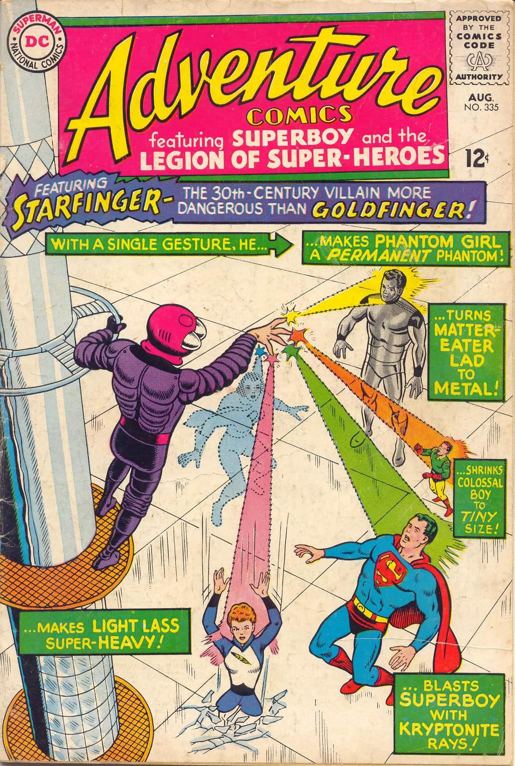 Adventure Comics (1938) 335 Page 1