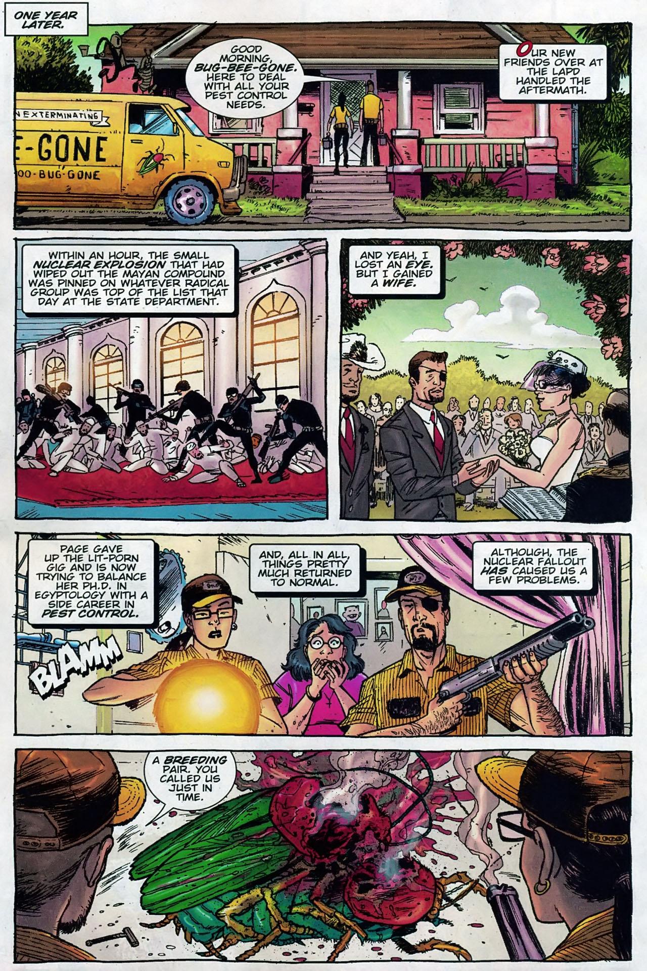 Read online The Exterminators comic -  Issue #30 - 23