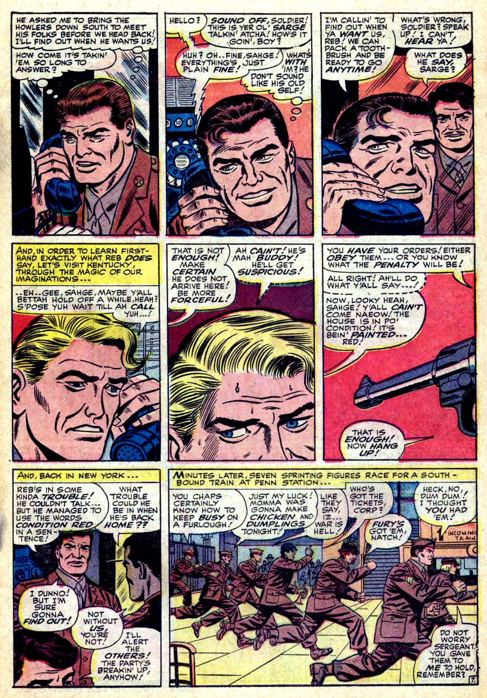 Read online Sgt. Fury comic -  Issue #24 - 11
