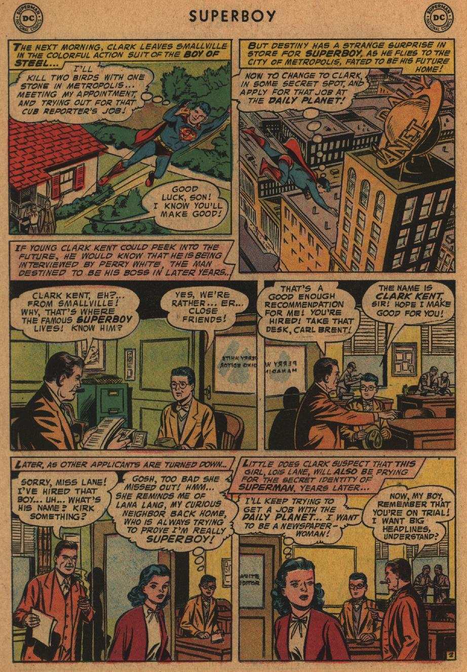 Superboy (1949) issue 63 - Page 12