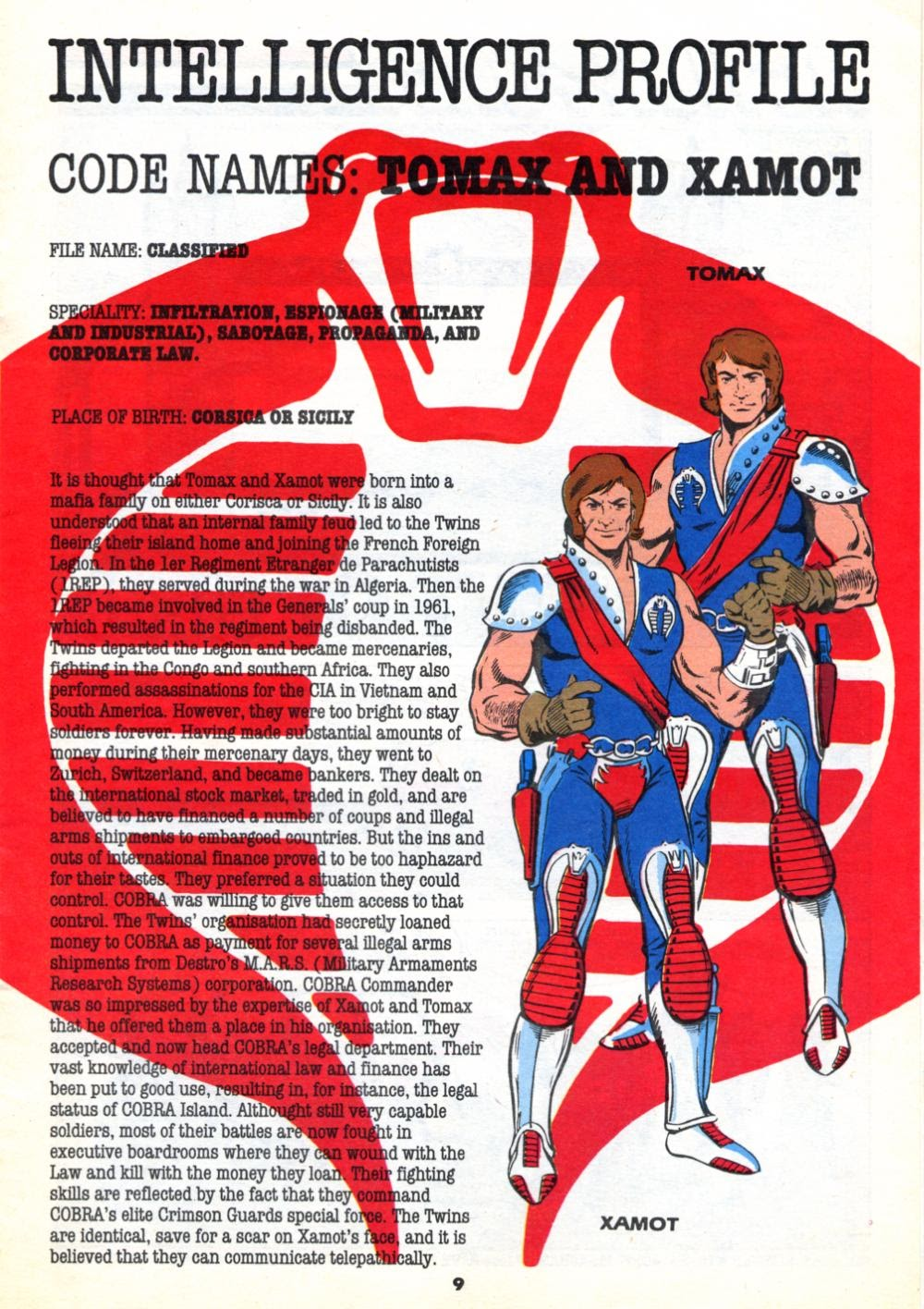 G.I. Joe European Missions issue 10 - Page 9