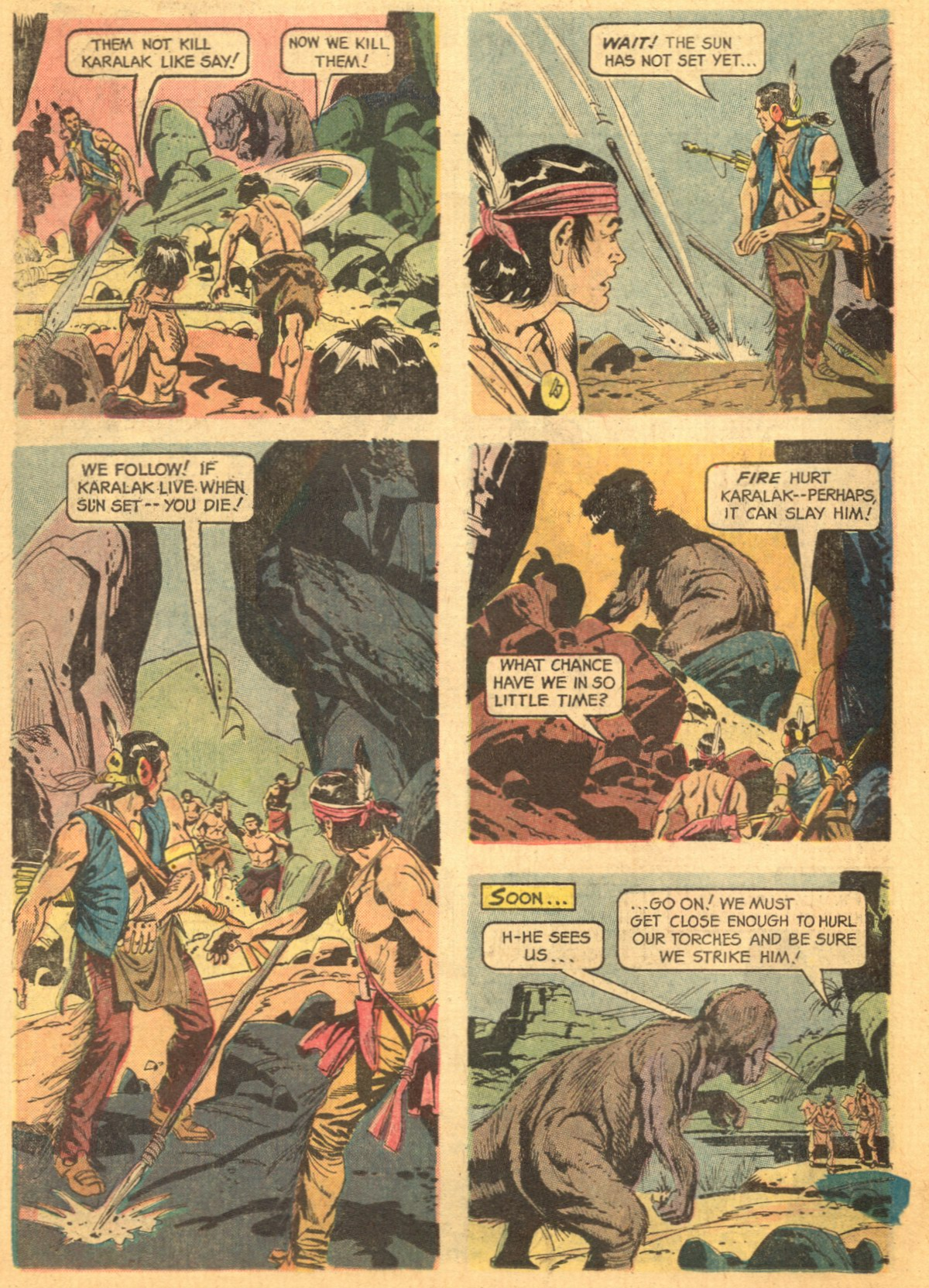 Read online Turok, Son of Stone comic -  Issue #46 - 26