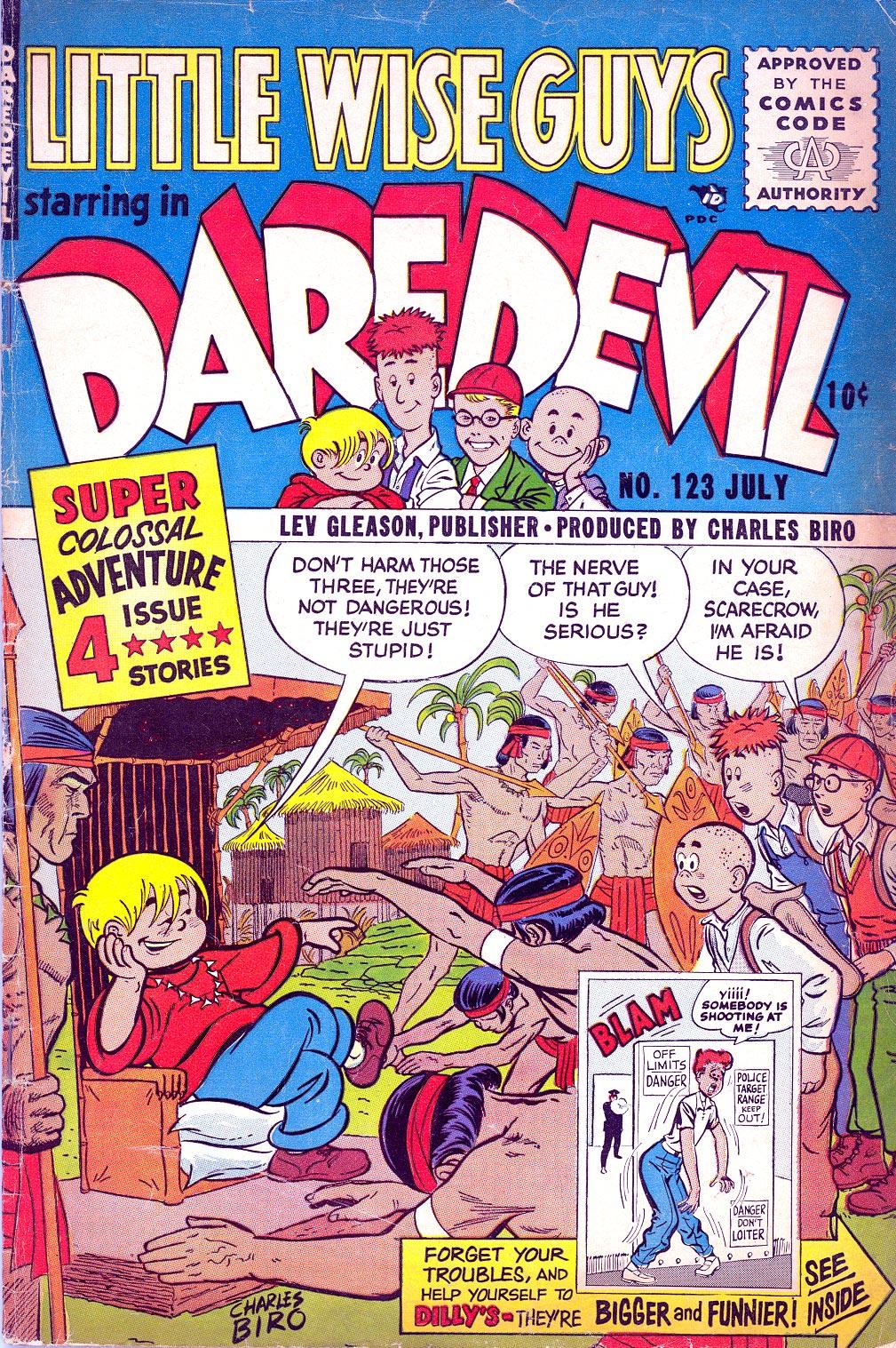 Daredevil (1941) 123 Page 1