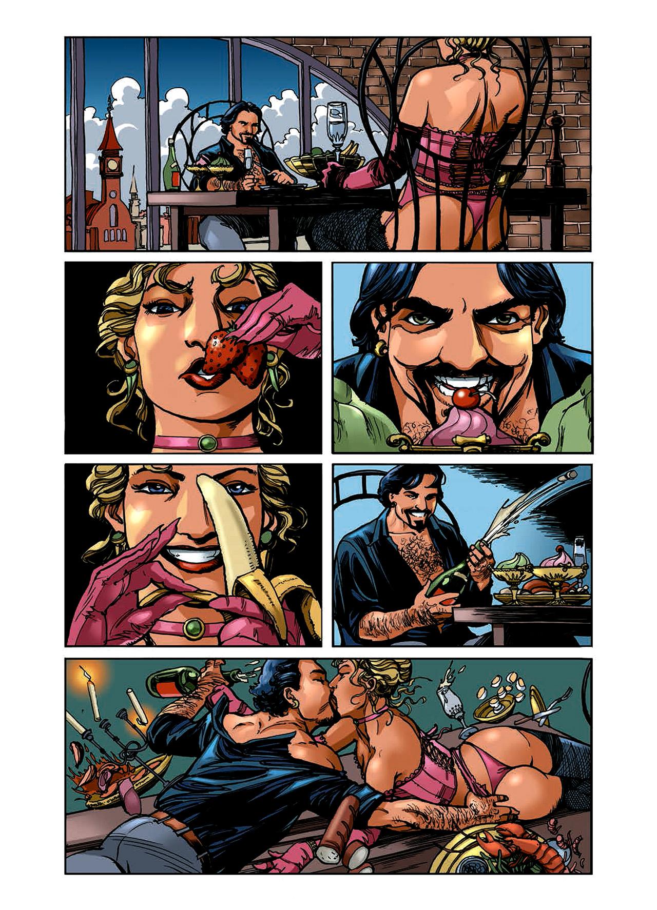 Read online Nikolai Dante comic -  Issue # TPB 6 - 41