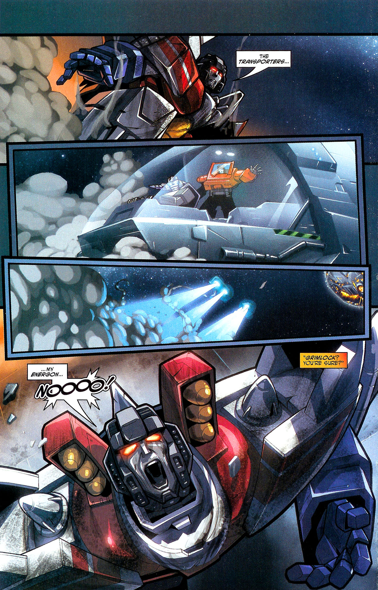 "Read online Transformers War Within: ""The Dark Ages"" comic -  Issue #1 - 23"