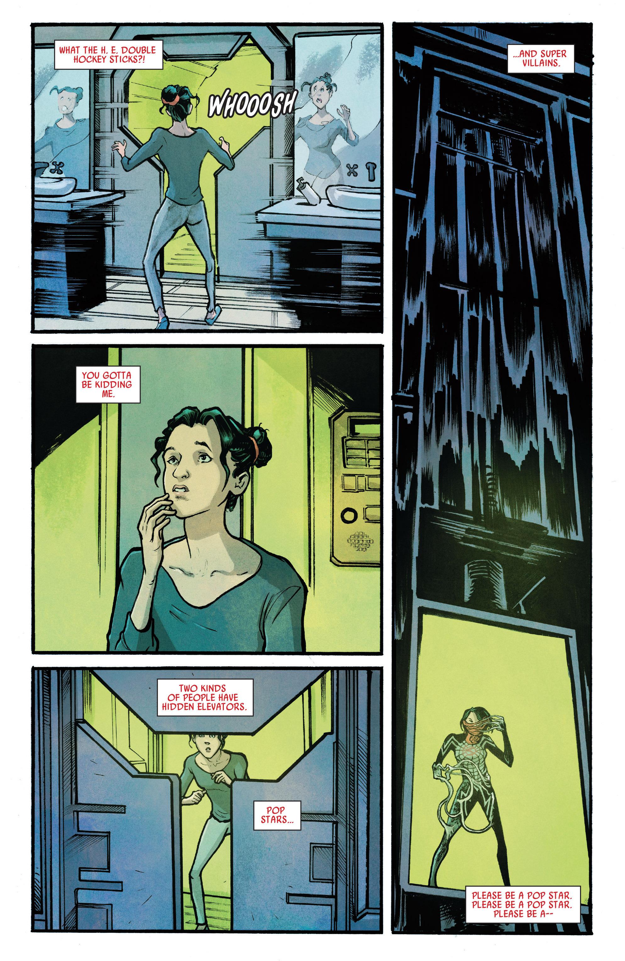 Read online Silk (2016) comic -  Issue #7 - 16