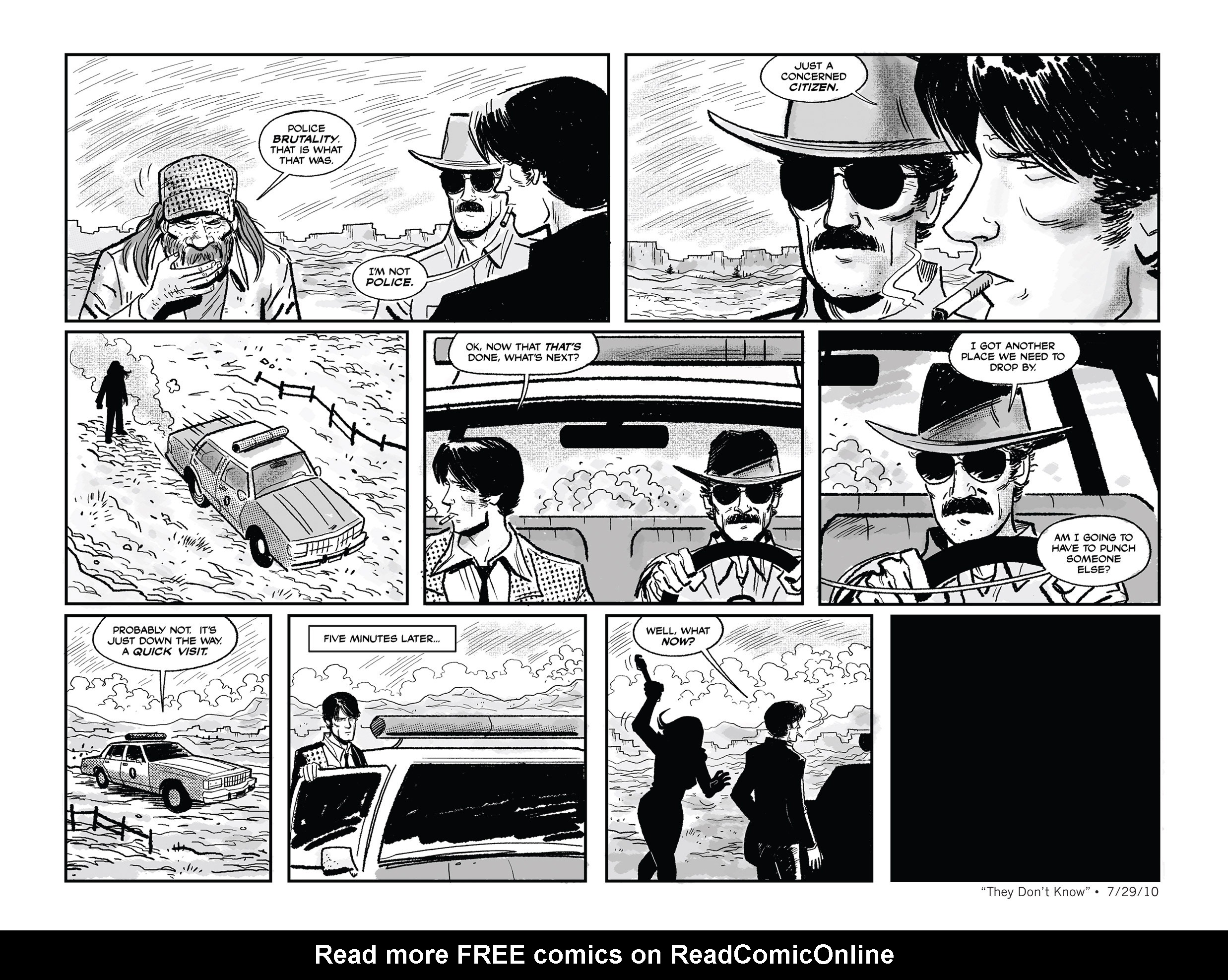 Read online She Died In Terrebonne comic -  Issue #3 - 11