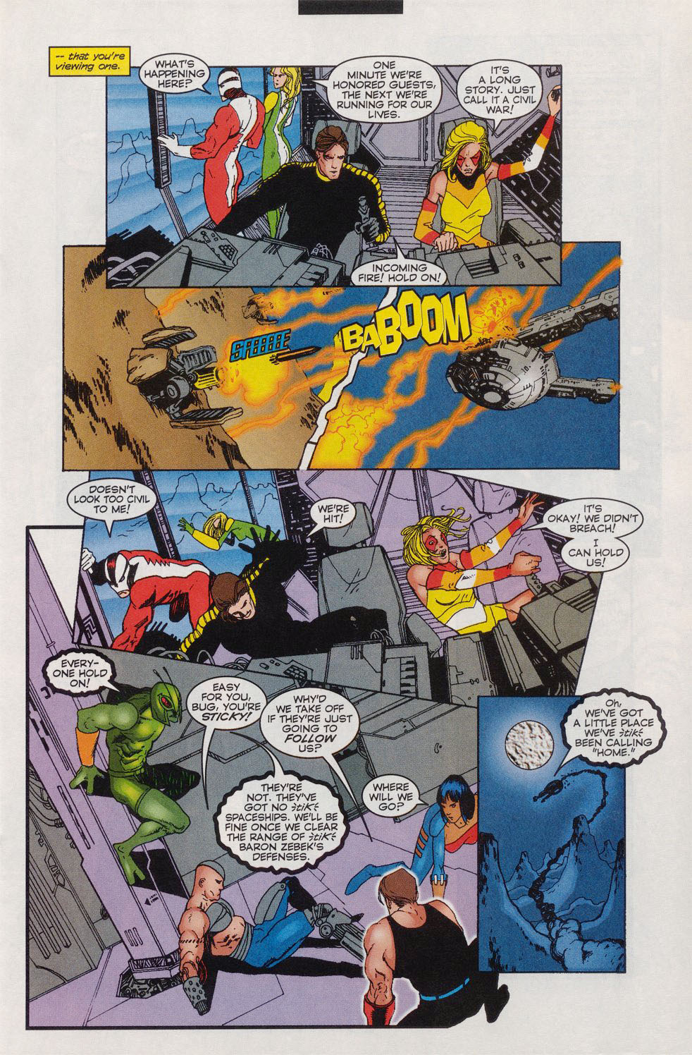 Read online Alpha Flight (1997) comic -  Issue #11 - 7
