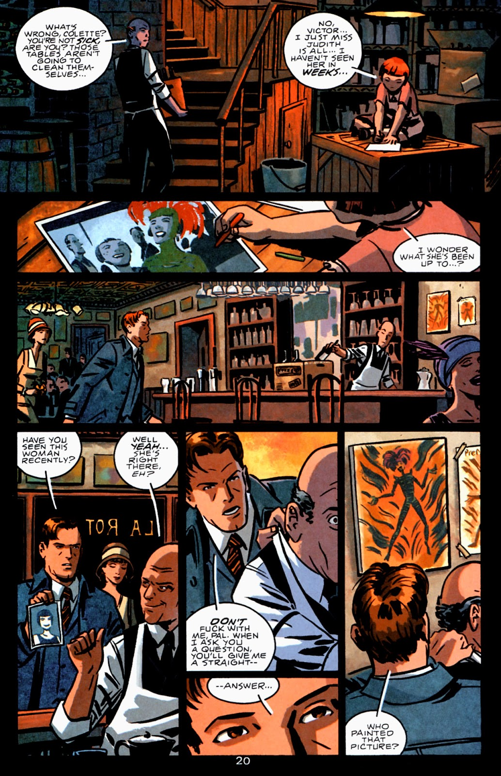 Read online Beware The Creeper (2003) comic -  Issue #3 - 20