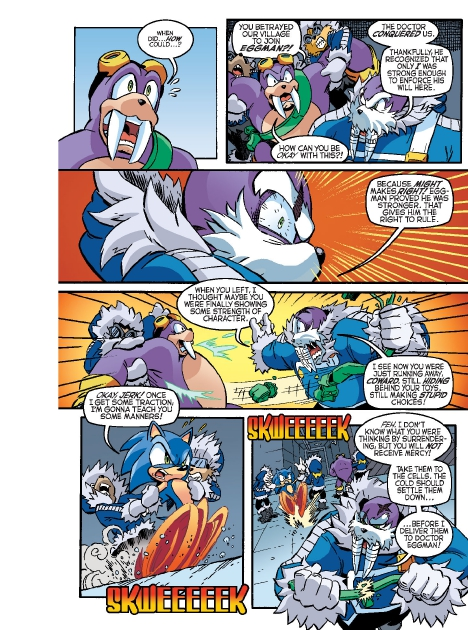 Read online Sonic Comics Spectacular: Speed of Sound comic -  Issue # Full - 125