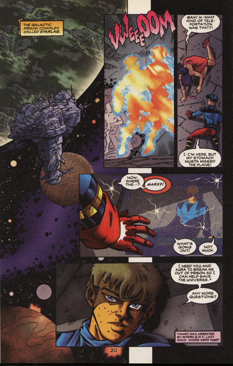 Read online Superboy & The Ravers comic -  Issue #13 - 21