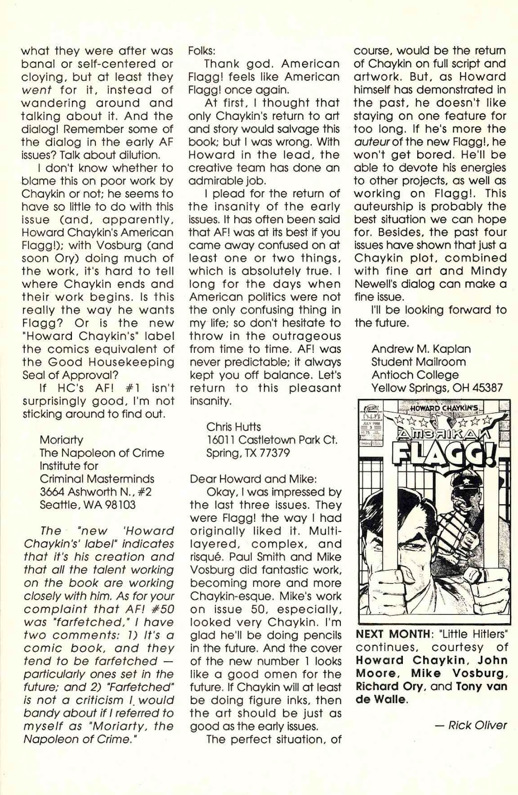 Howard Chaykin's American Flagg issue 2 - Page 30