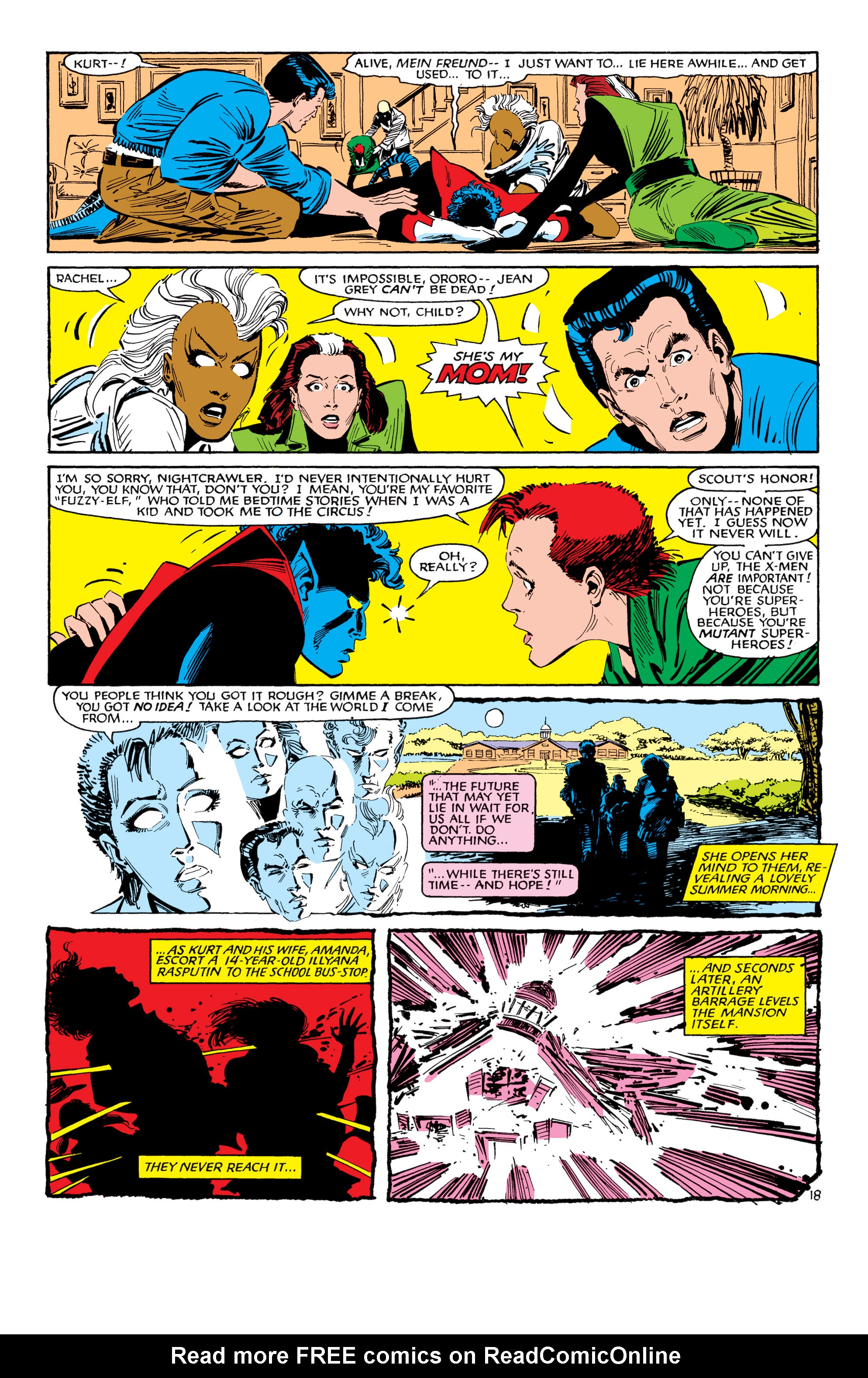 Read online Uncanny X-Men (1963) comic -  Issue #188 - 19